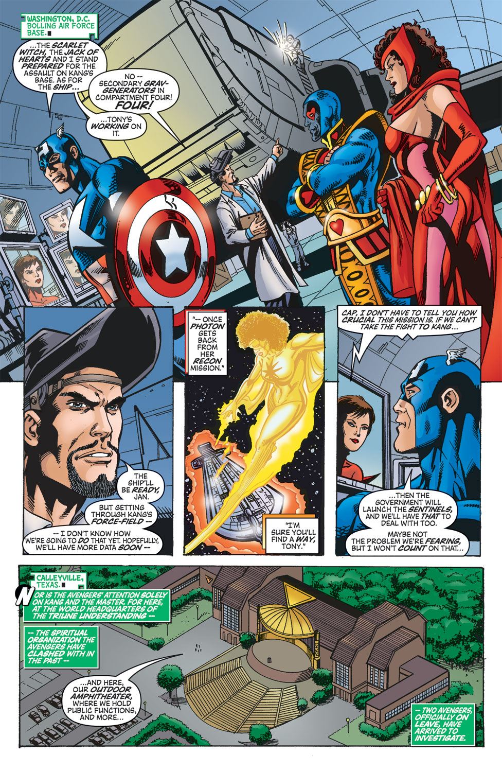Read online Avengers (1998) comic -  Issue #46 - 10