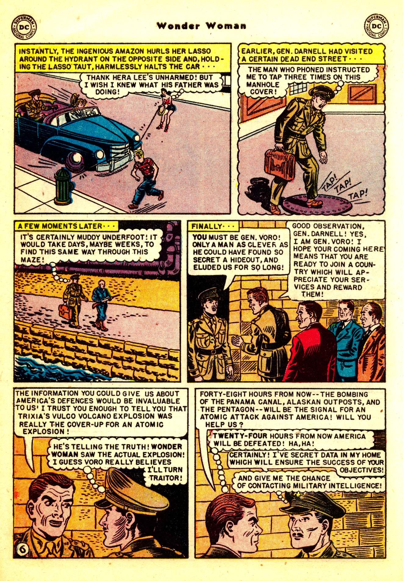 Read online Wonder Woman (1942) comic -  Issue #50 - 8