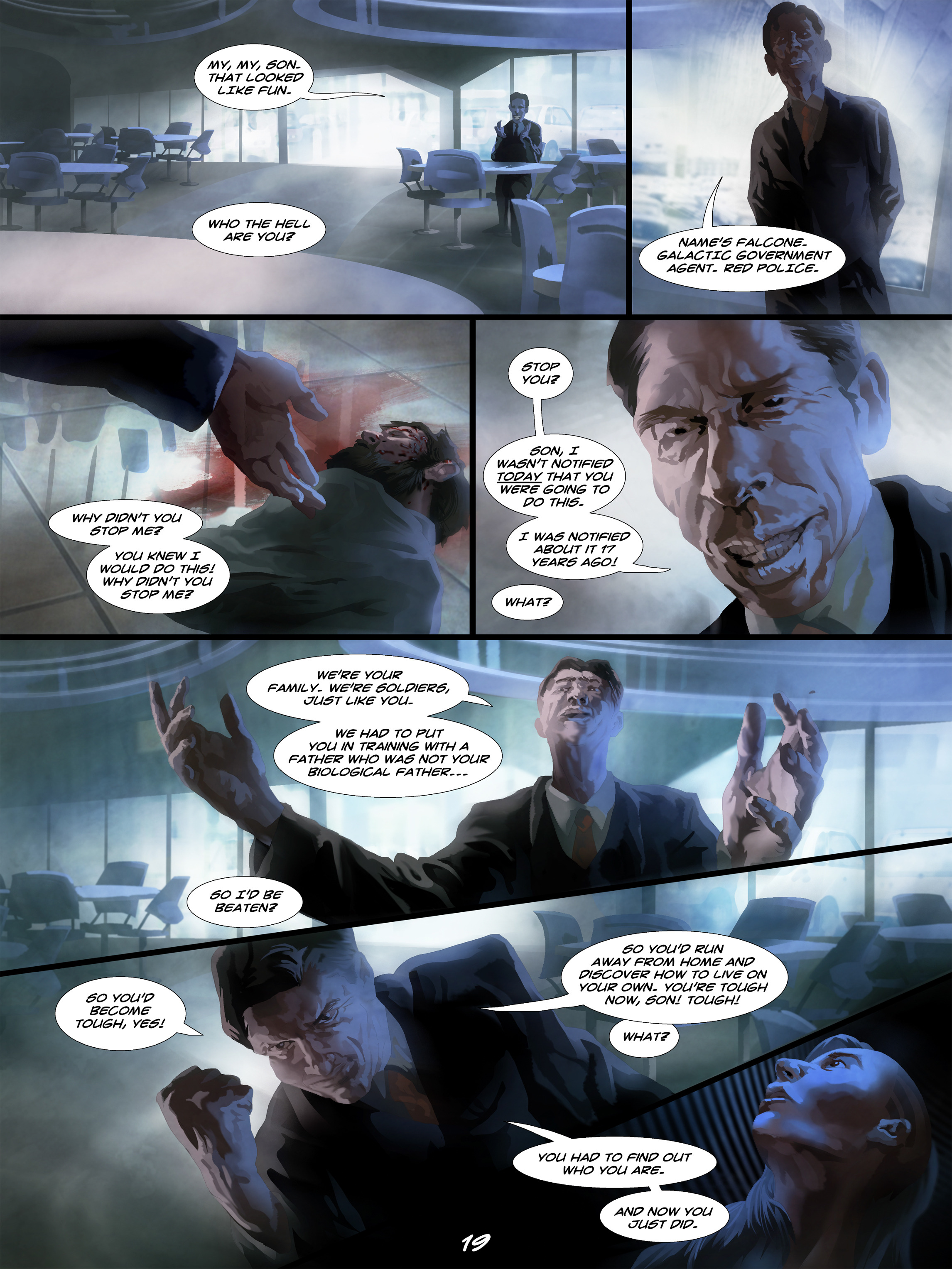 Read online Wynter comic -  Issue #5 - 20