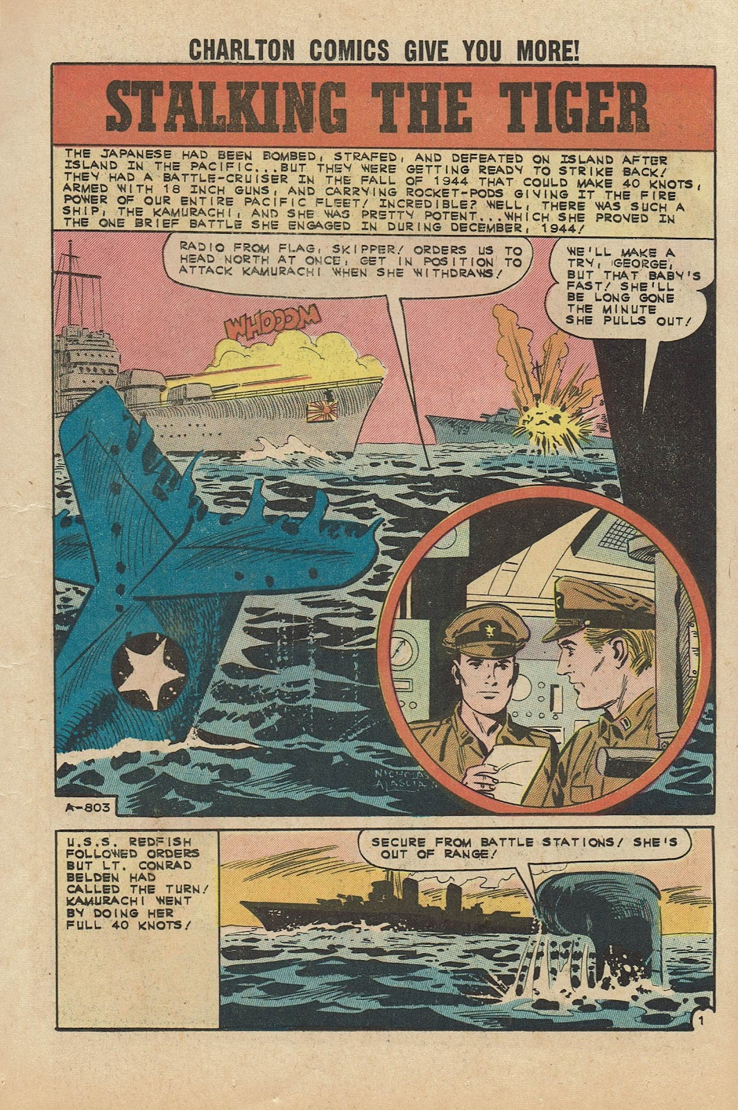 Read online Fightin' Navy comic -  Issue #104 - 11