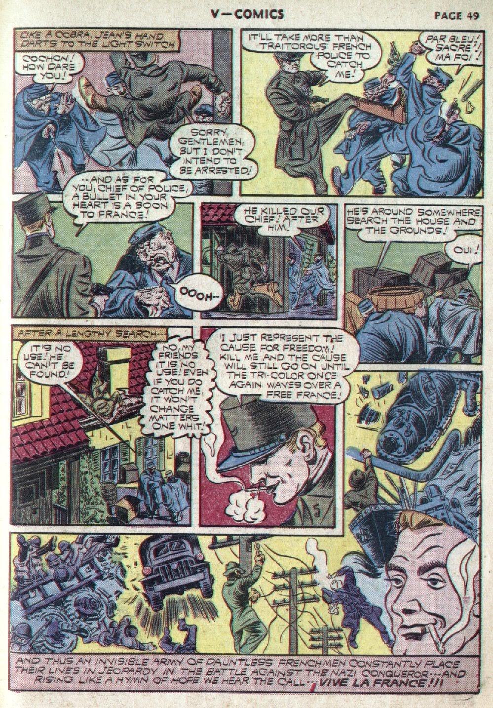Read online V...- Comics comic -  Issue #1 - 50