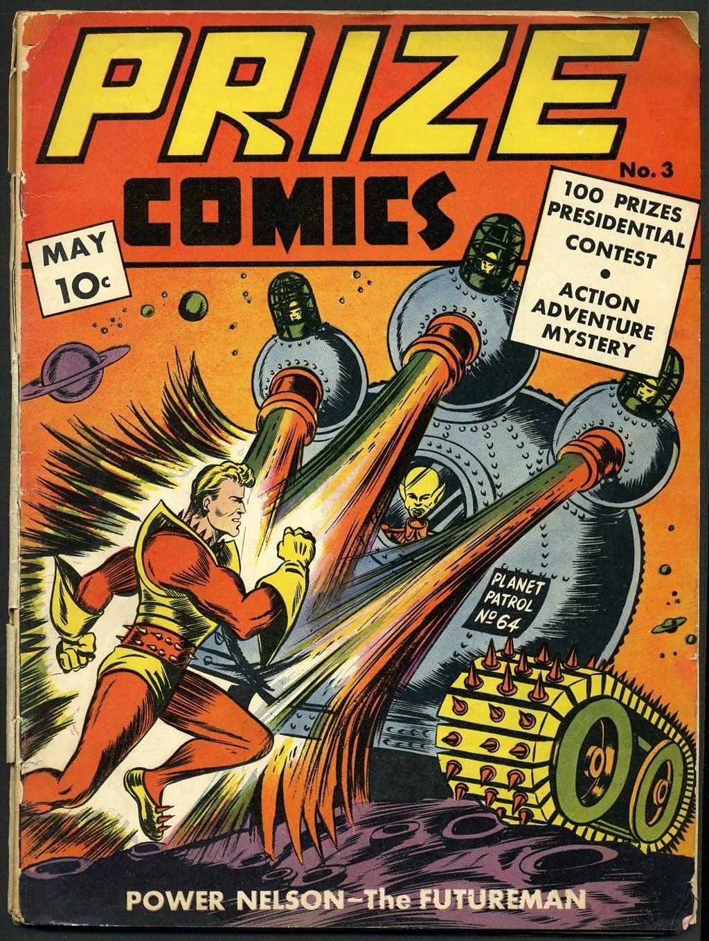 Prize Comics 3 Page 1