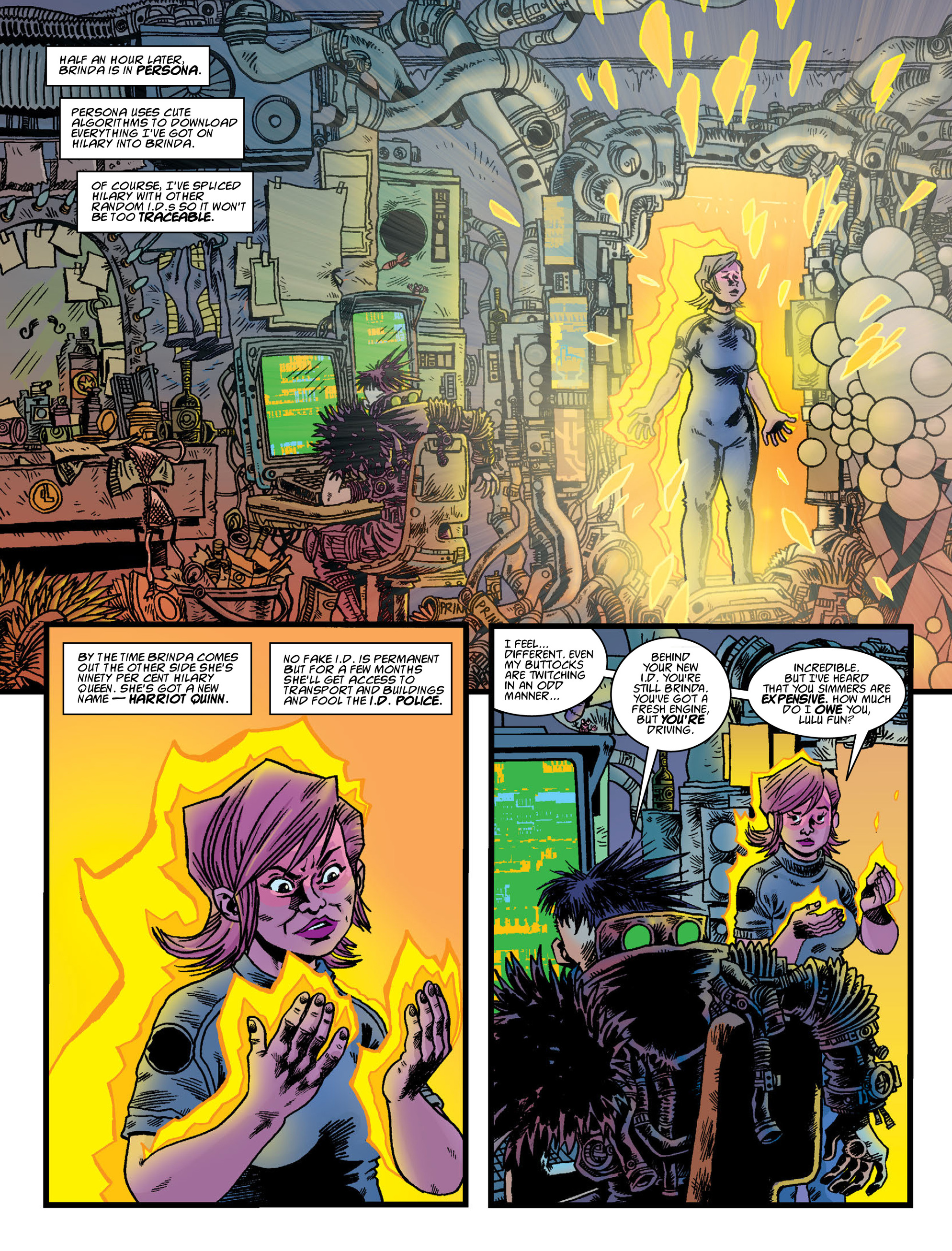 Read online 2000 AD comic -  Issue #2000 - 49