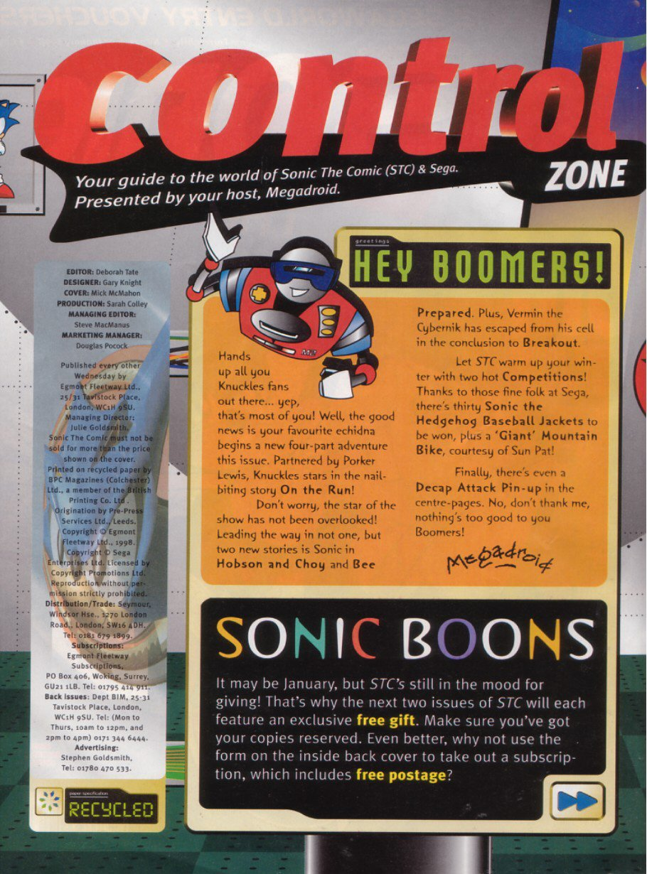 Read online Sonic the Comic comic -  Issue #121 - 2