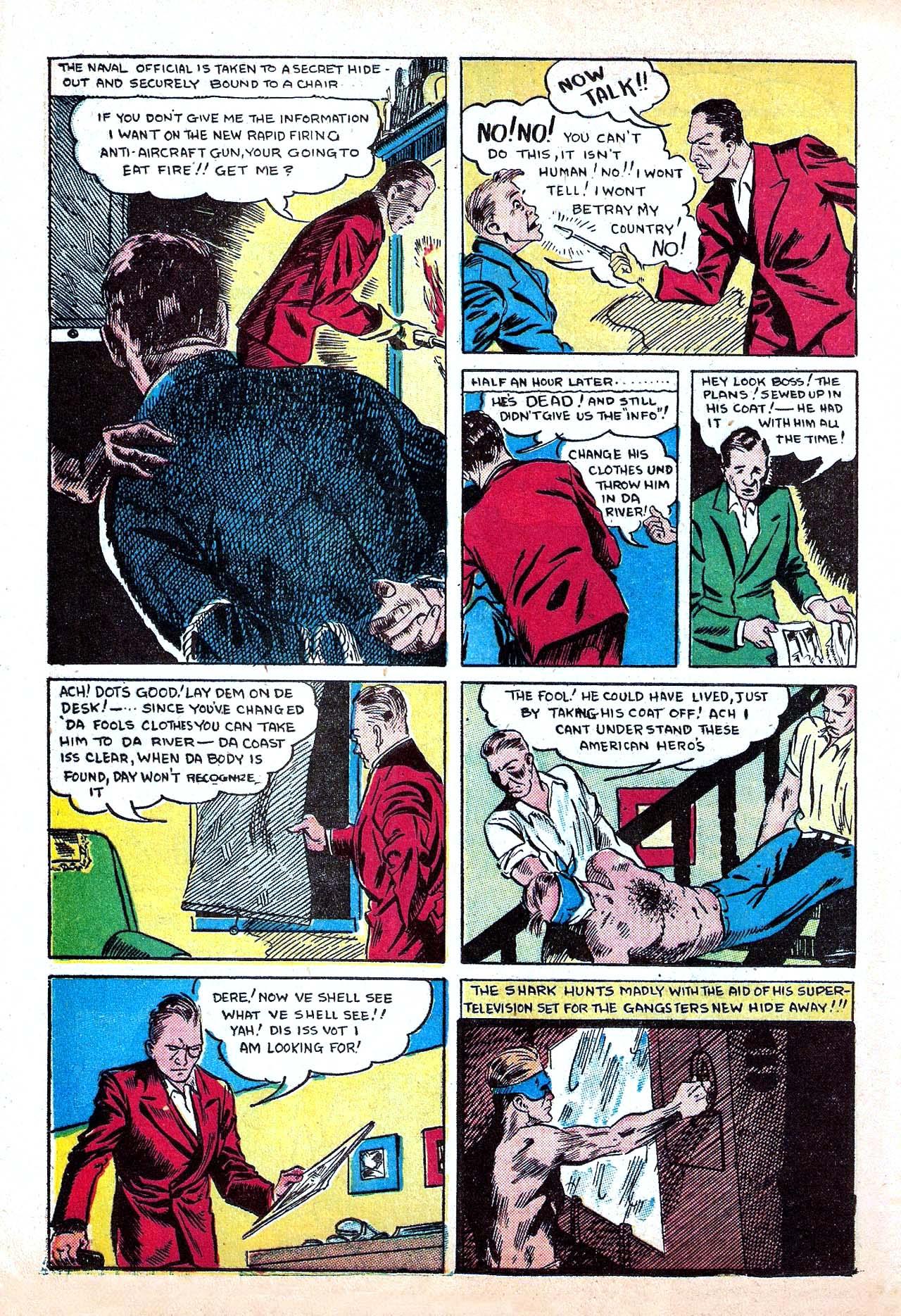 Read online Amazing Man Comics comic -  Issue #11 - 46