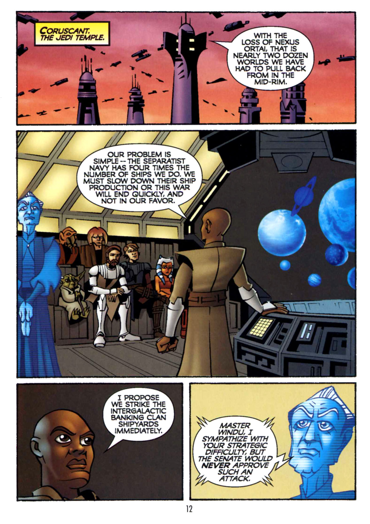 Read online Star Wars: The Clone Wars - Shipyards of Doom comic -  Issue # Full - 11