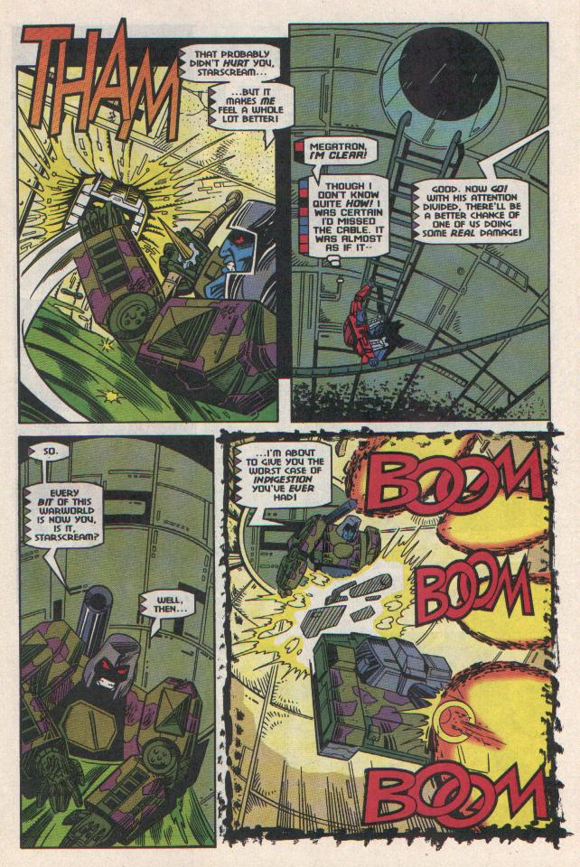 Read online Transformers: Generation 2 comic -  Issue #11 - 12