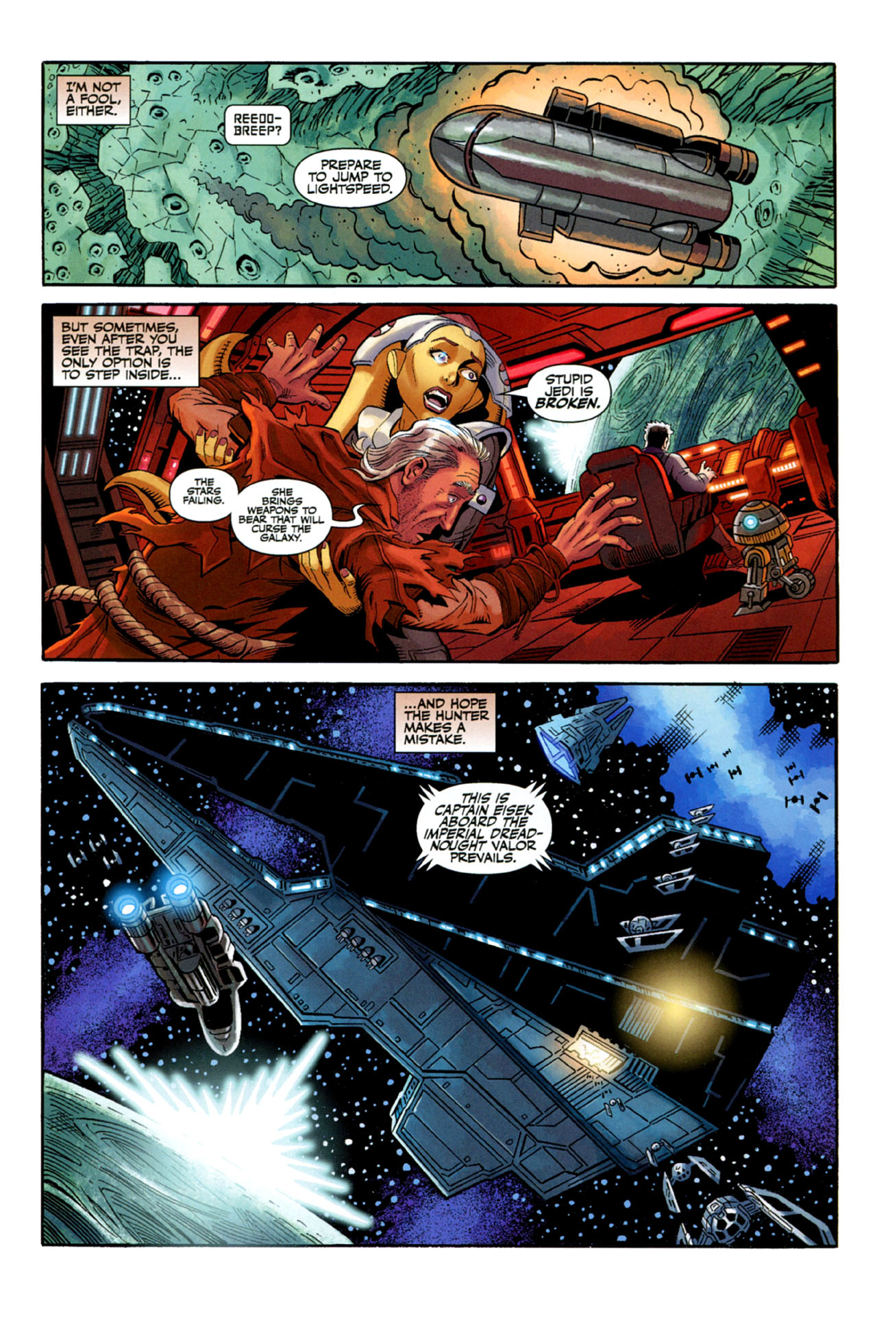 Read online Star Wars: The Old Republic - The Lost Suns comic -  Issue #3 - 22
