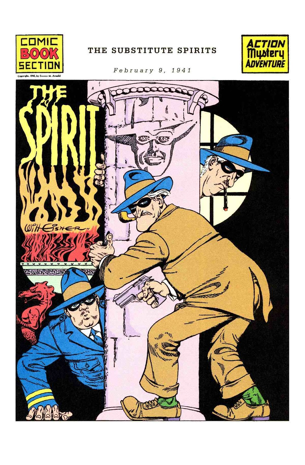 Read online Will Eisner's The Spirit Archives comic -  Issue # TPB 2 (Part 1) - 41