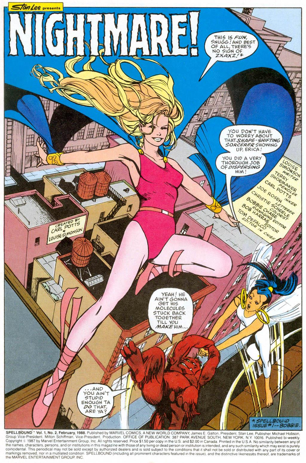 Spellbound (1988) issue 2 - Page 2