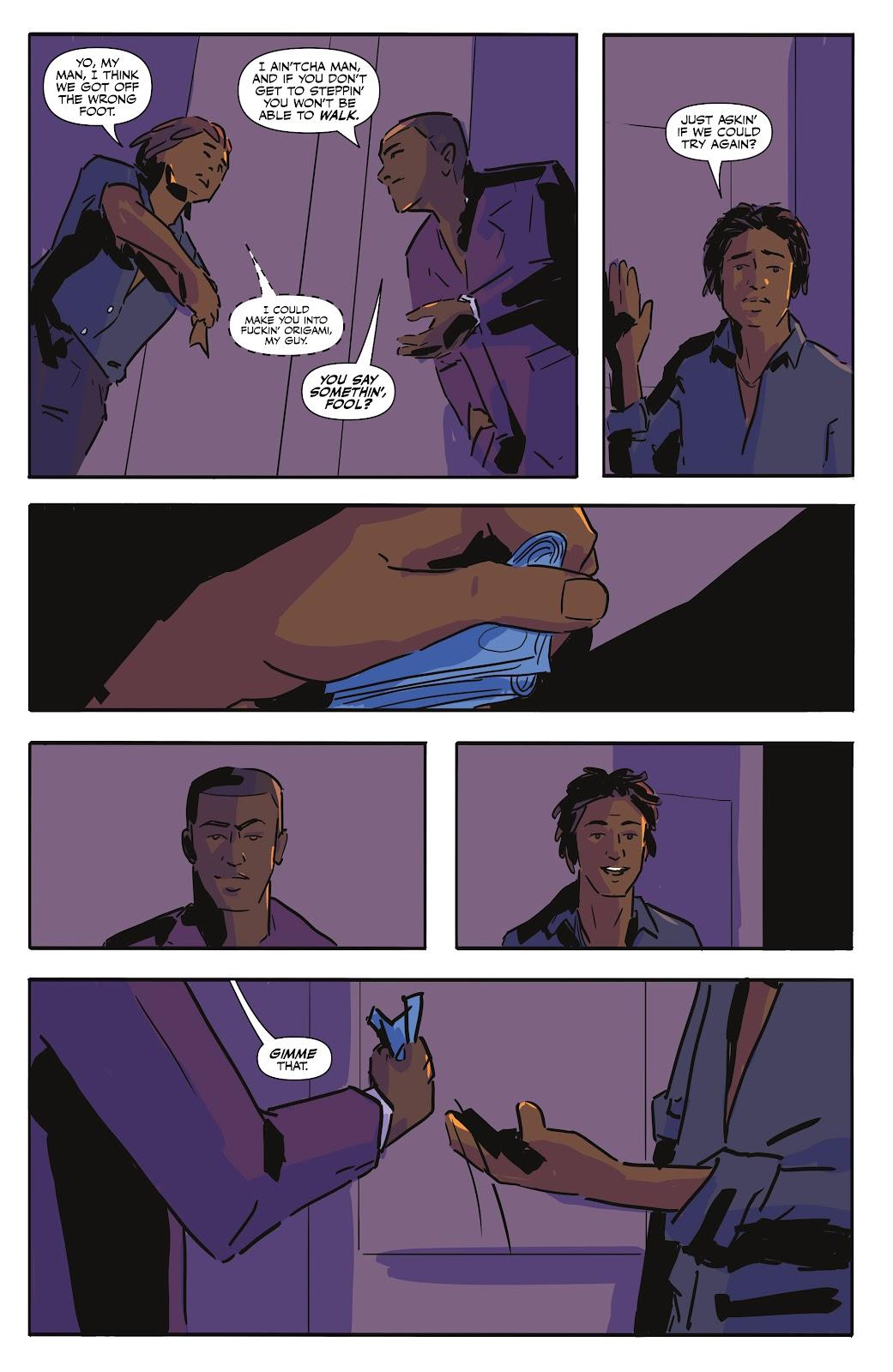 Read online Black (AF): Devil's Dye comic -  Issue #2 - 3