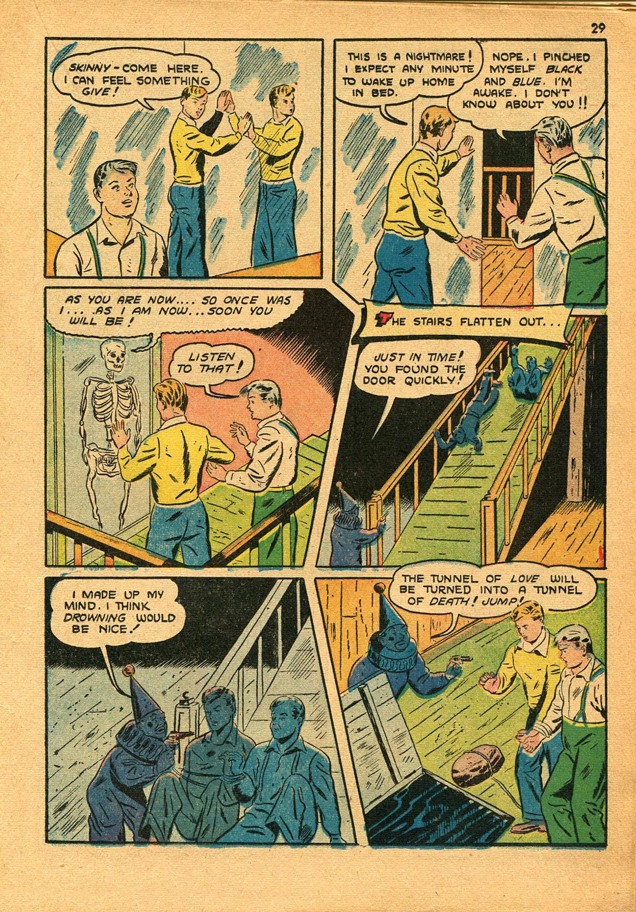 Read online Shadow Comics comic -  Issue #23 - 29