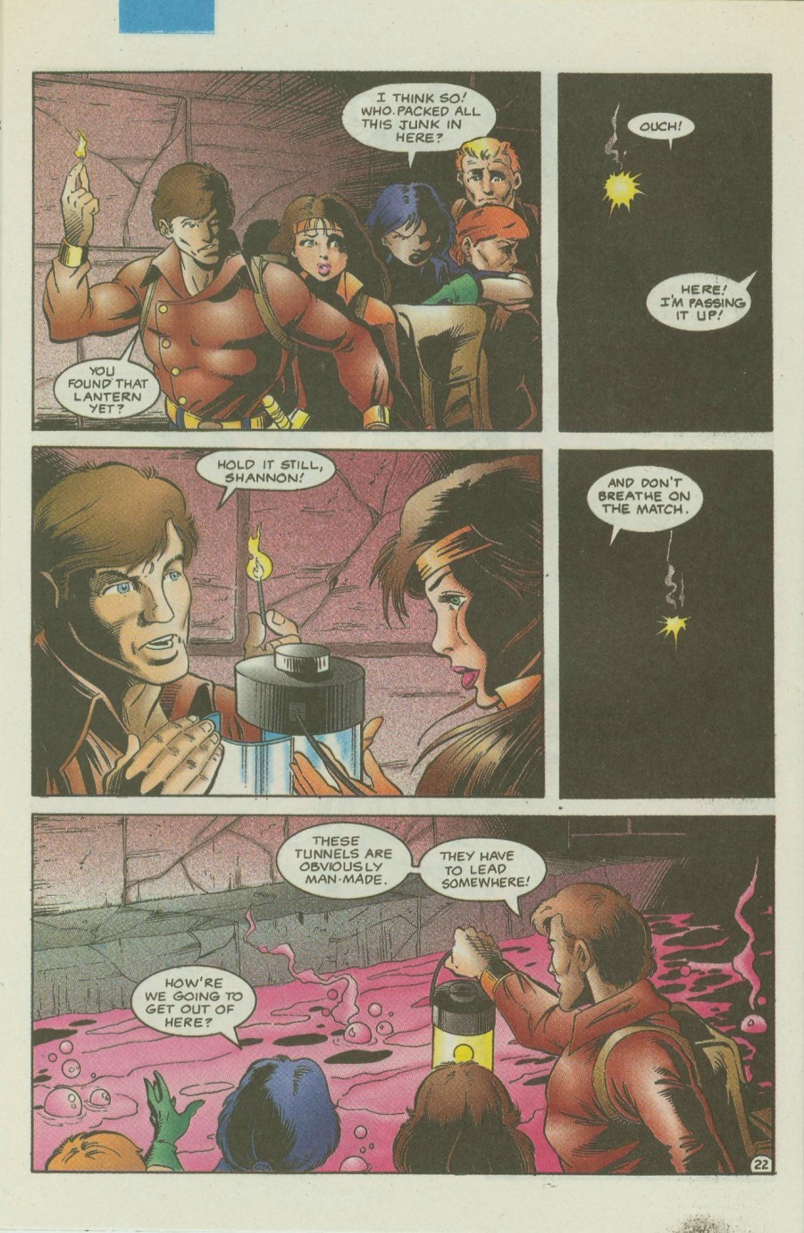 Read online Ex-Mutants comic -  Issue #4 - 27