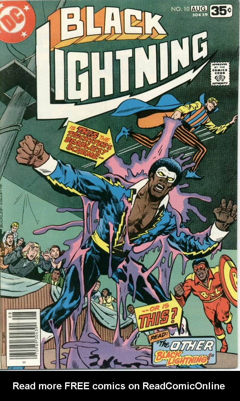 Black Lightning (1977) issue 10 - Page 1