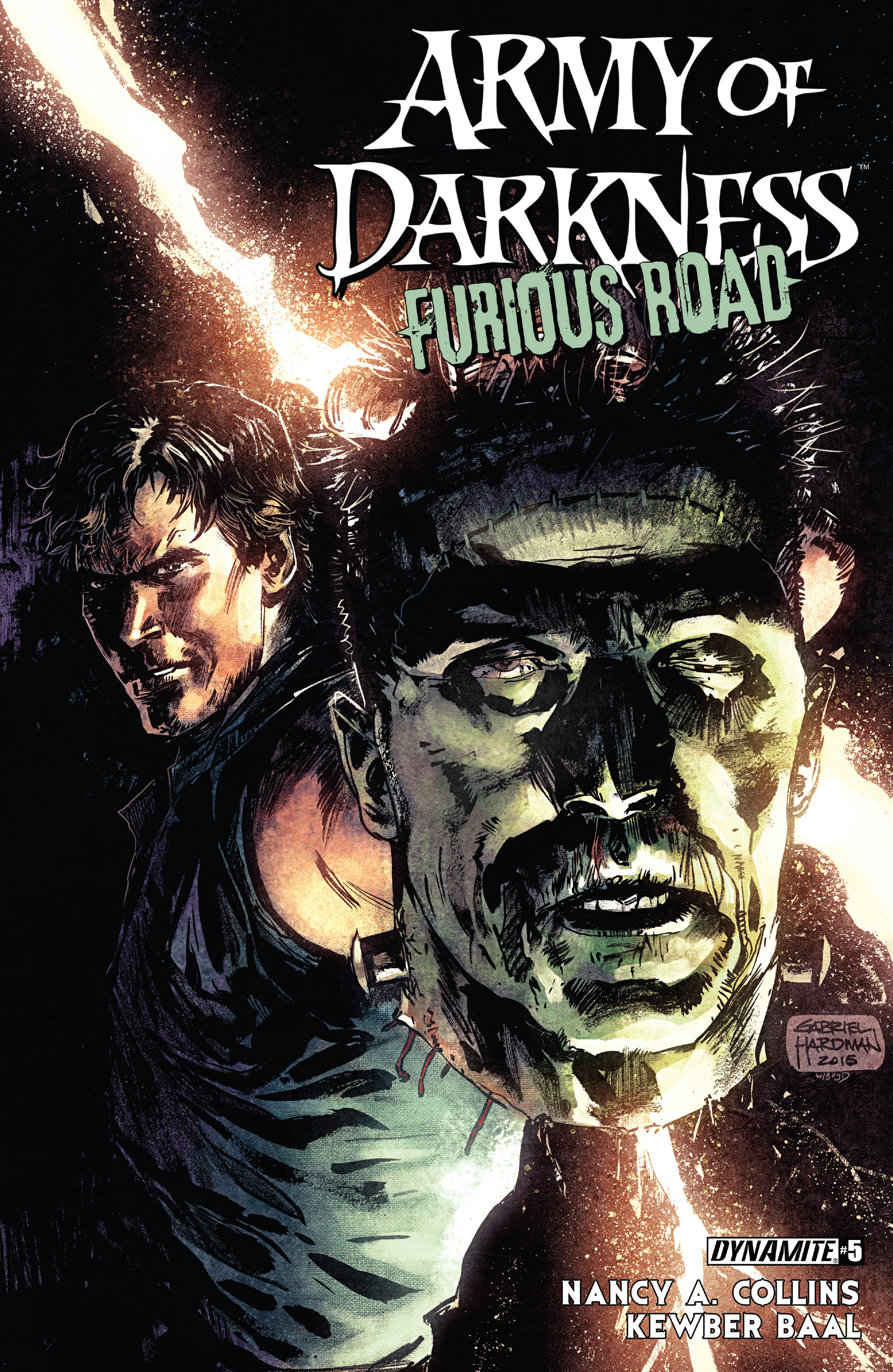 Read online Army of Darkness: Furious Road comic -  Issue #5 - 1