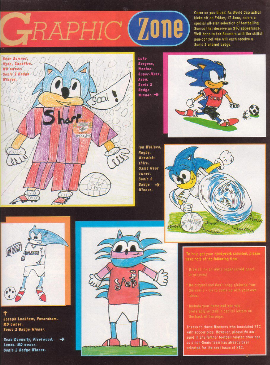 Read online Sonic the Comic comic -  Issue #28 - 23