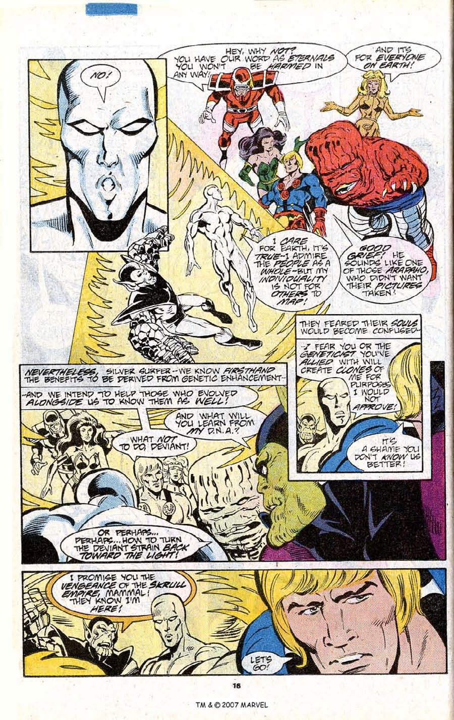 Read online Silver Surfer (1987) comic -  Issue # _Annual 1 - 18