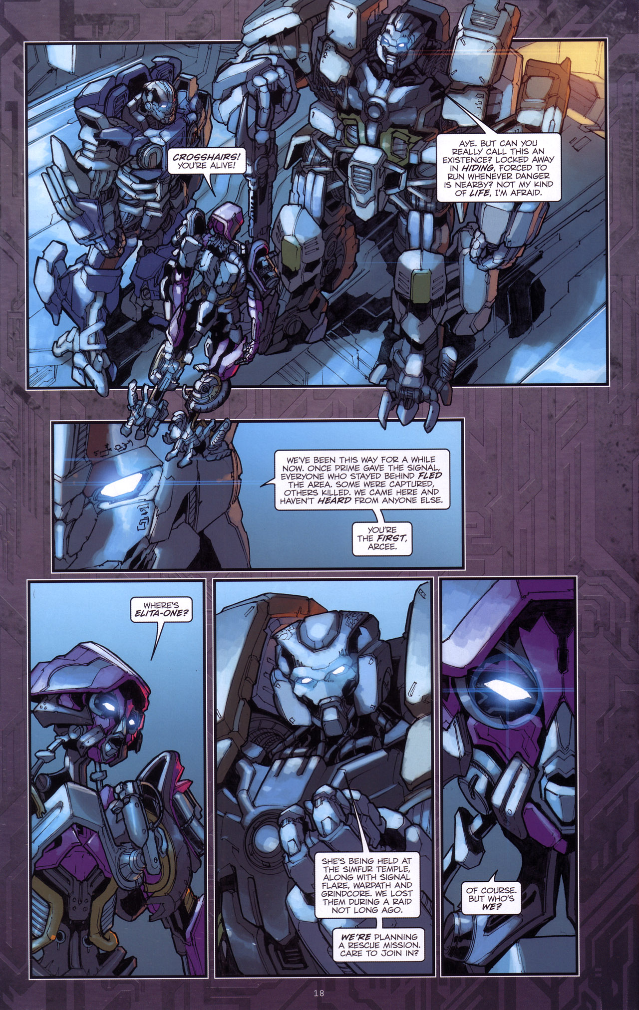 Read online Transformers: The Reign of Starscream comic -  Issue #4 - 20