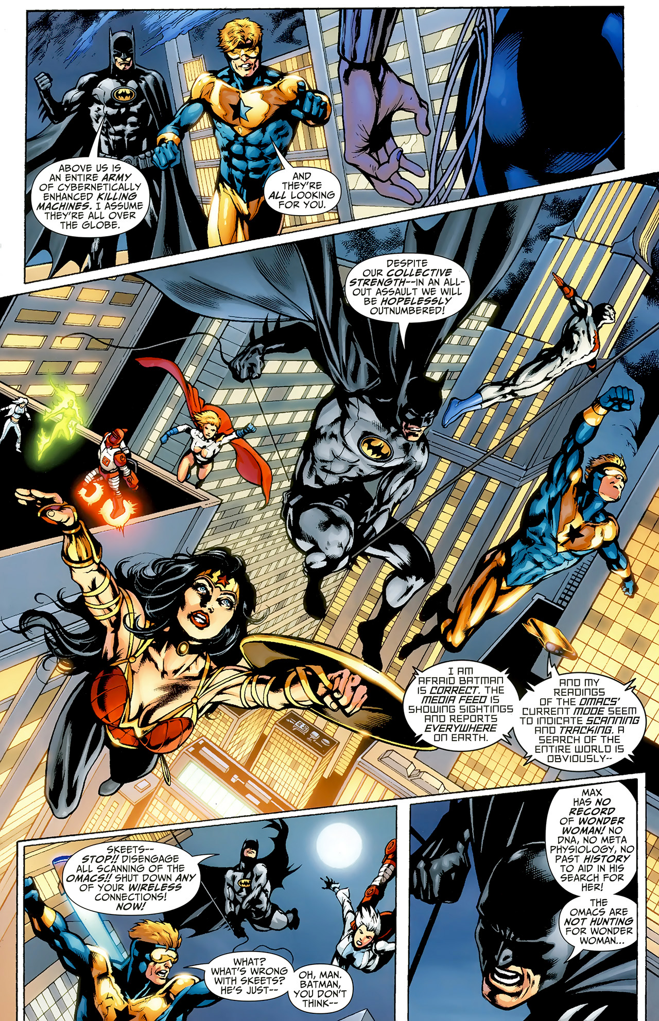 Read online Justice League: Generation Lost comic -  Issue #23 - 5