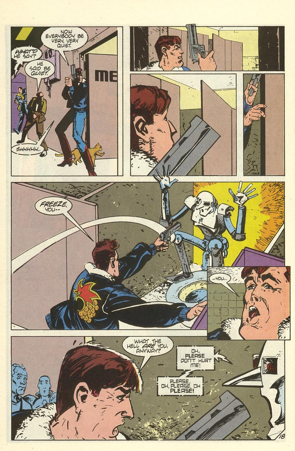 Read online American Flagg! comic -  Issue #41 - 24