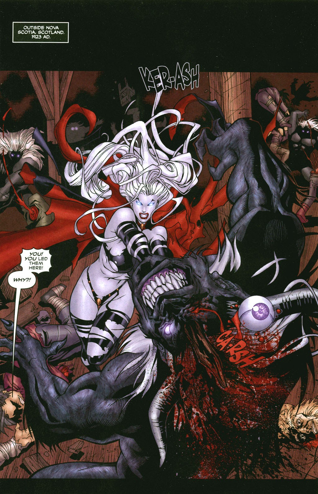 Read online Lady Death: The Wicked comic -  Issue #1 - 11