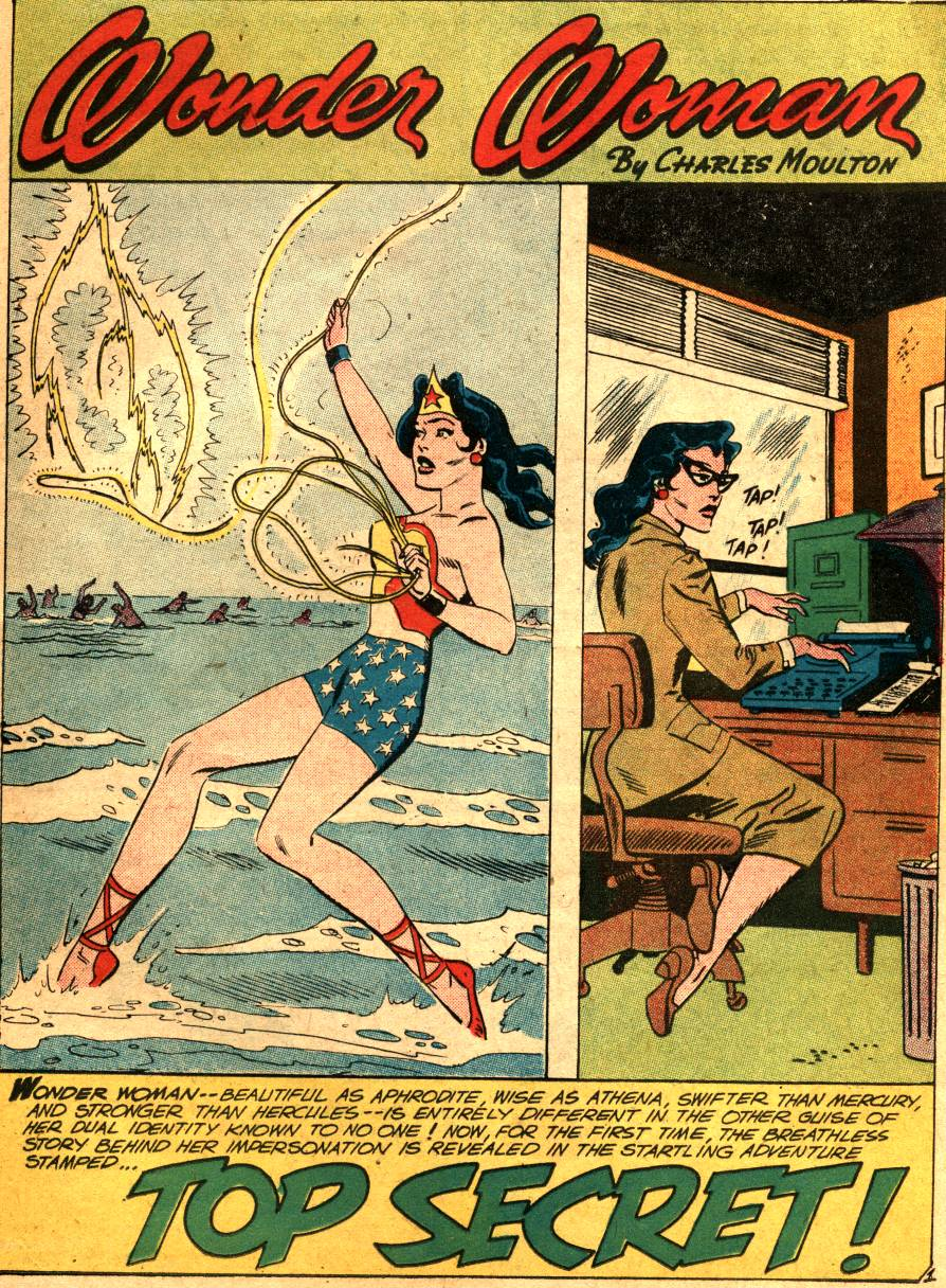 Read online Wonder Woman (1942) comic -  Issue #99 - 23