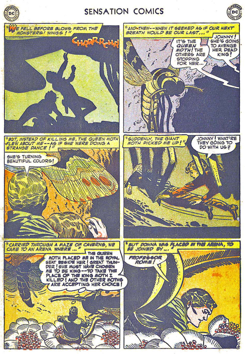 Read online Sensation (Mystery) Comics comic -  Issue #108 - 18