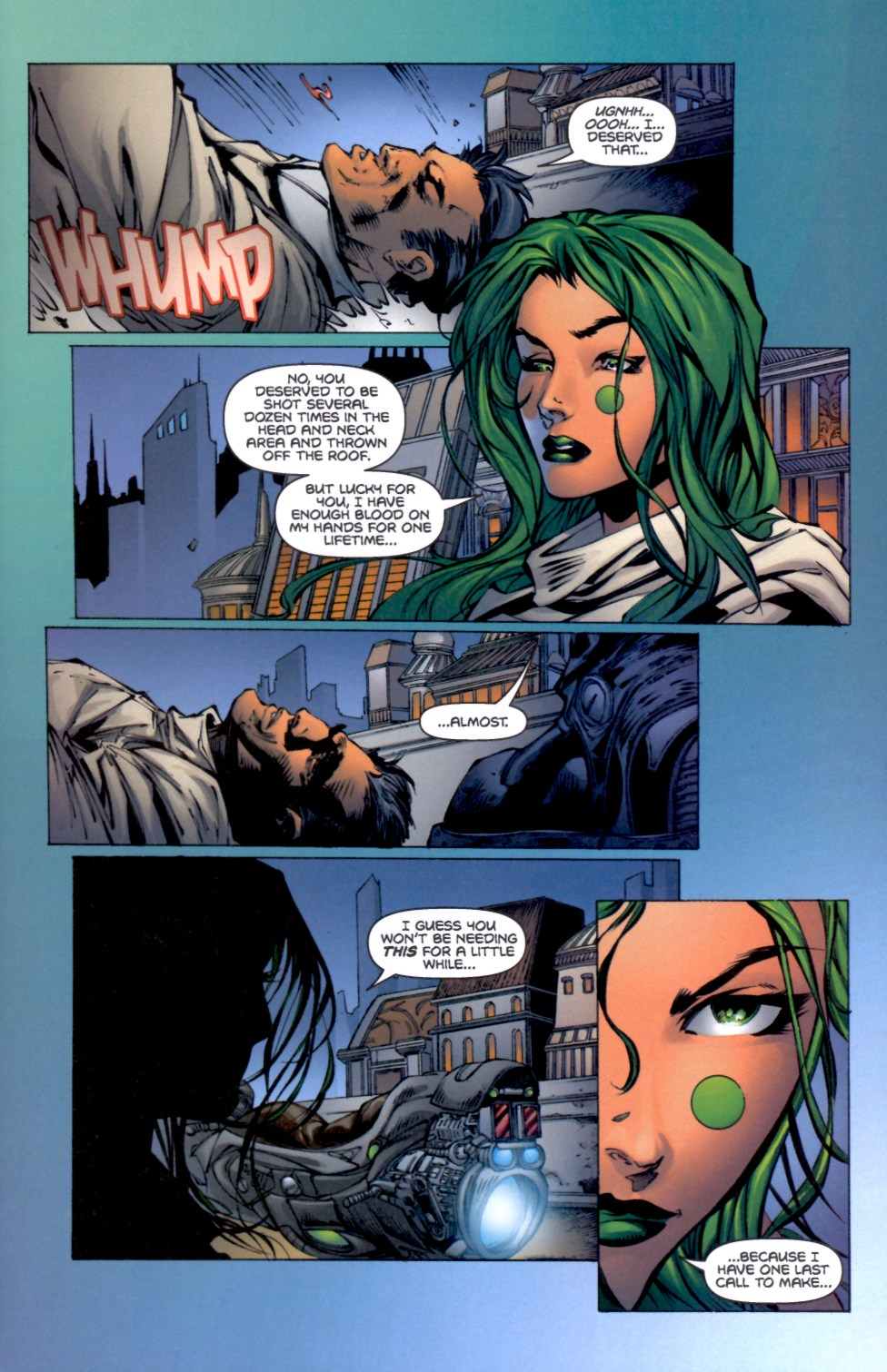 Read online Aphrodite IX (2000) comic -  Issue #4 - 32