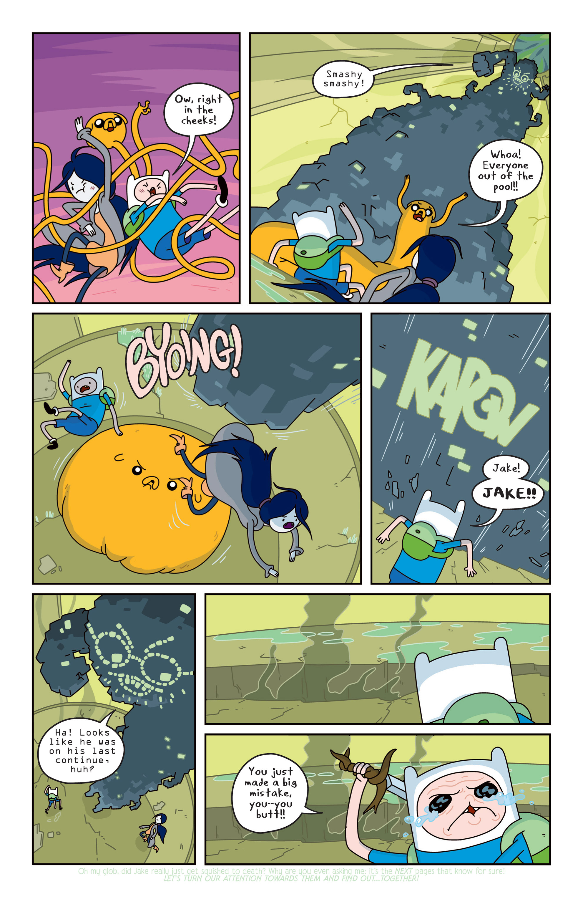 Read online Adventure Time comic -  Issue #14 - 9