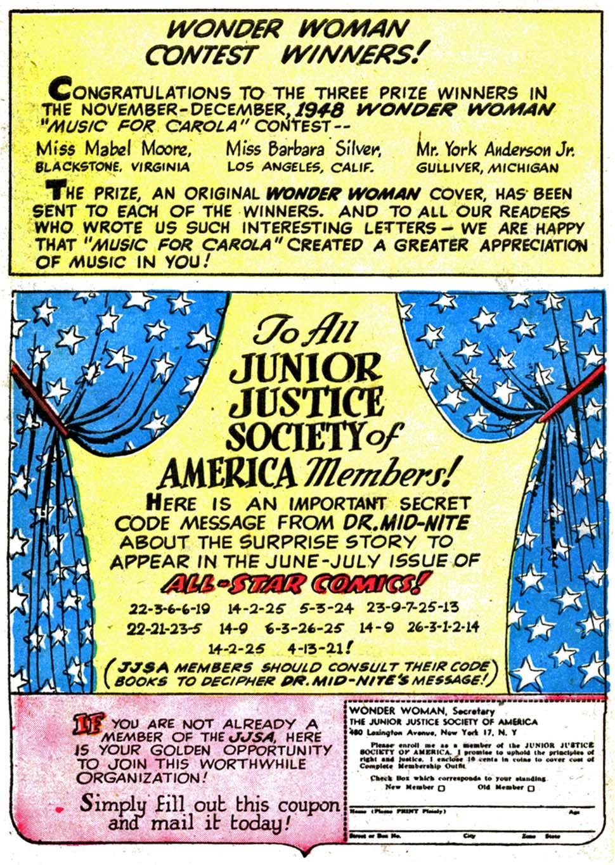 Read online Wonder Woman (1942) comic -  Issue #35 - 50