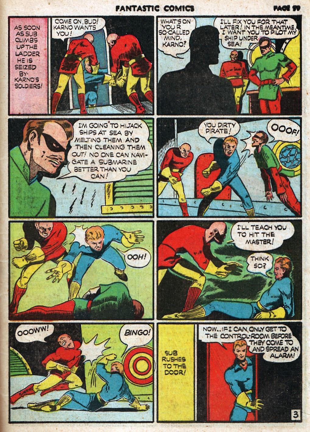 Read online Fantastic Comics comic -  Issue #17 - 60