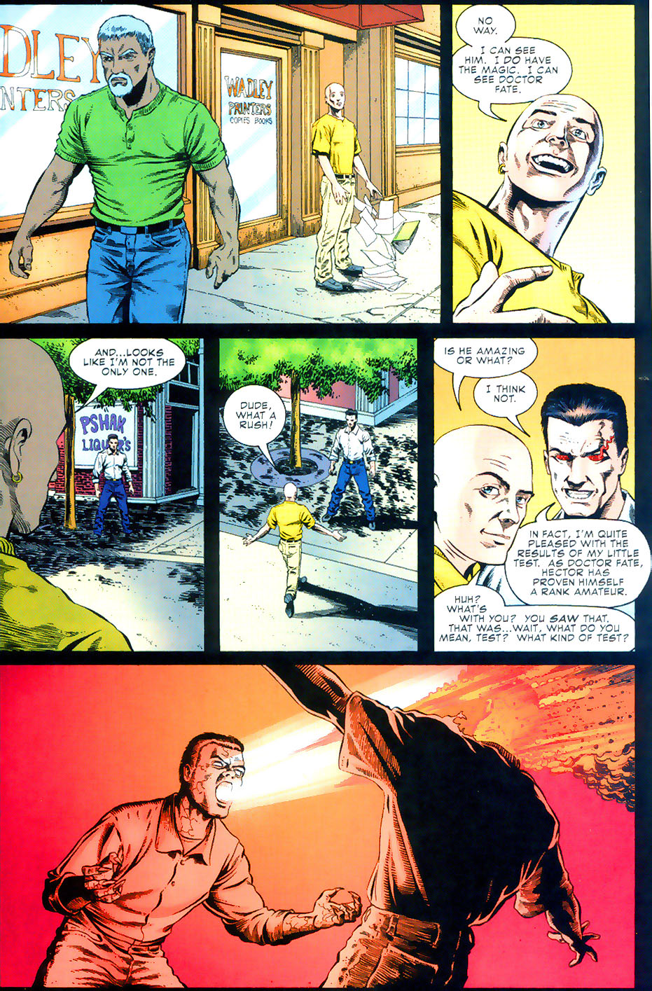 Read online Doctor Fate (2003) comic -  Issue #2 - 19