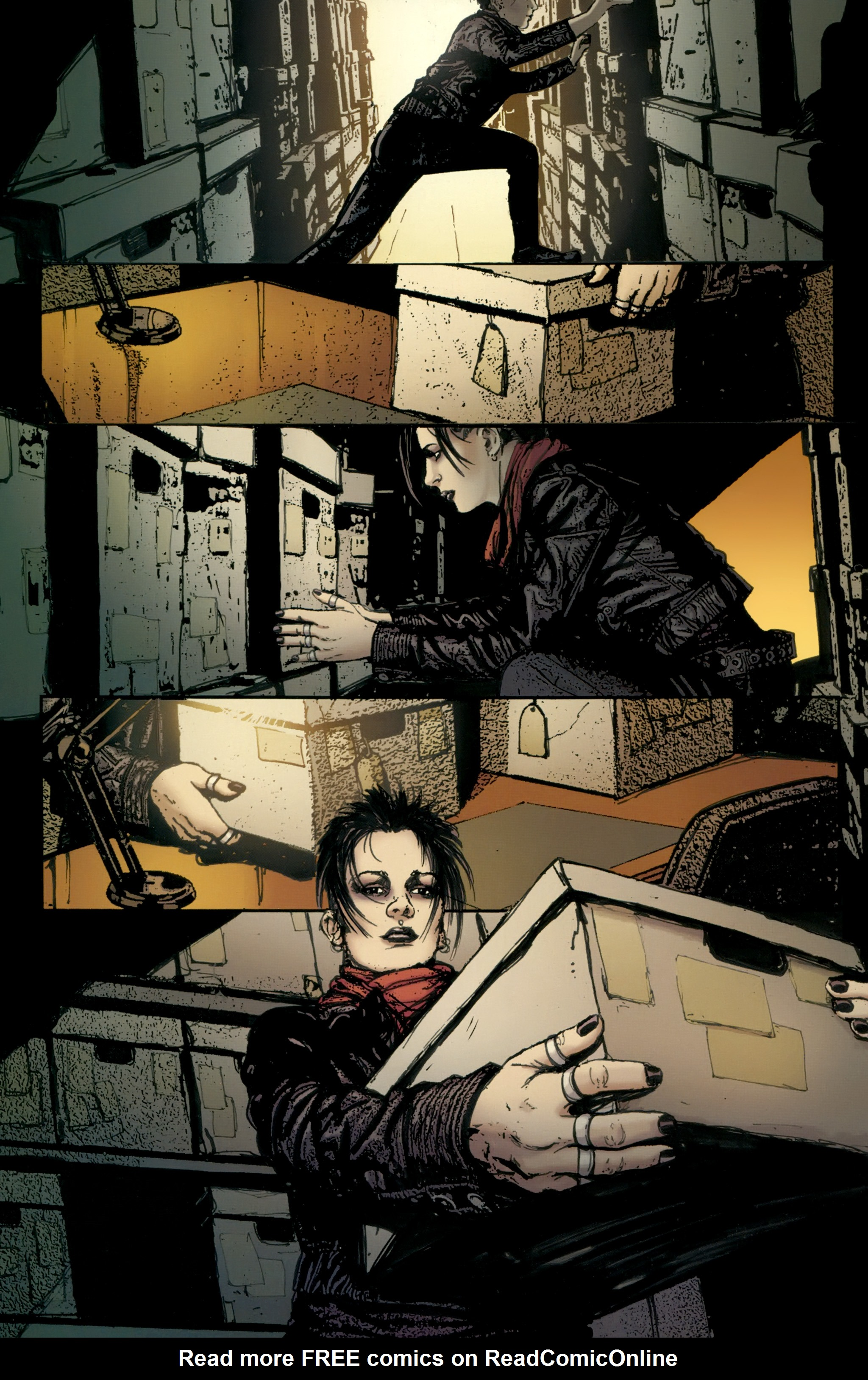 Read online The Girl With the Dragon Tattoo comic -  Issue # TPB 2 - 78