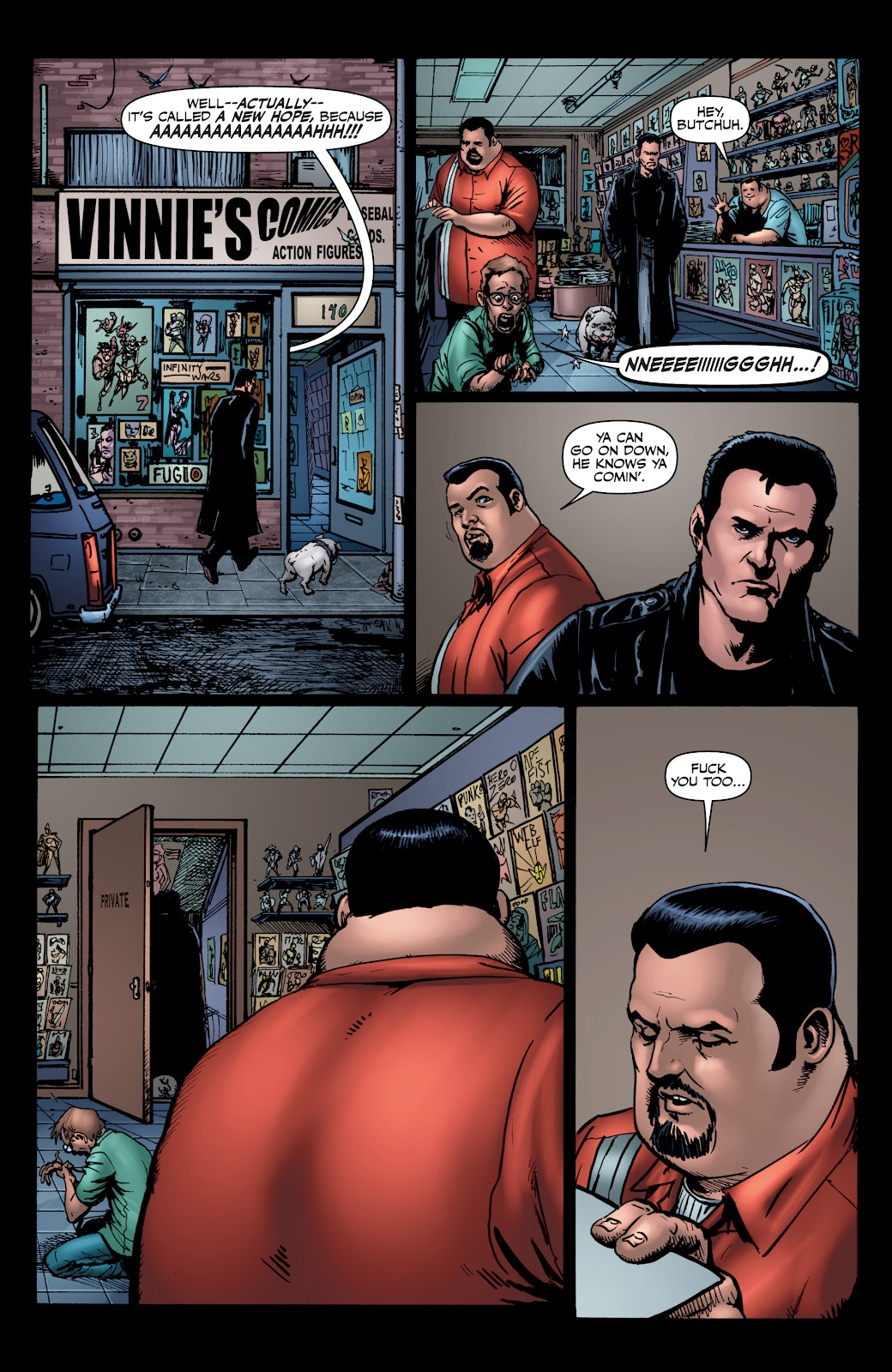 Read online The Boys Omnibus comic -  Issue # TPB 4 (Part 1) - 34