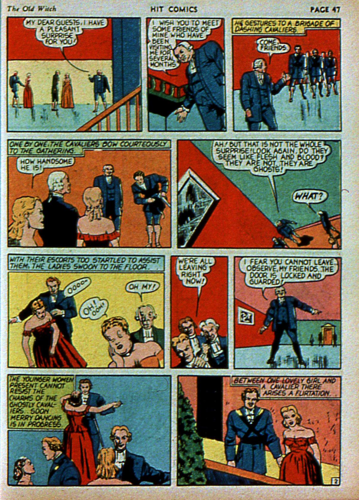 Read online Hit Comics comic -  Issue #3 - 49
