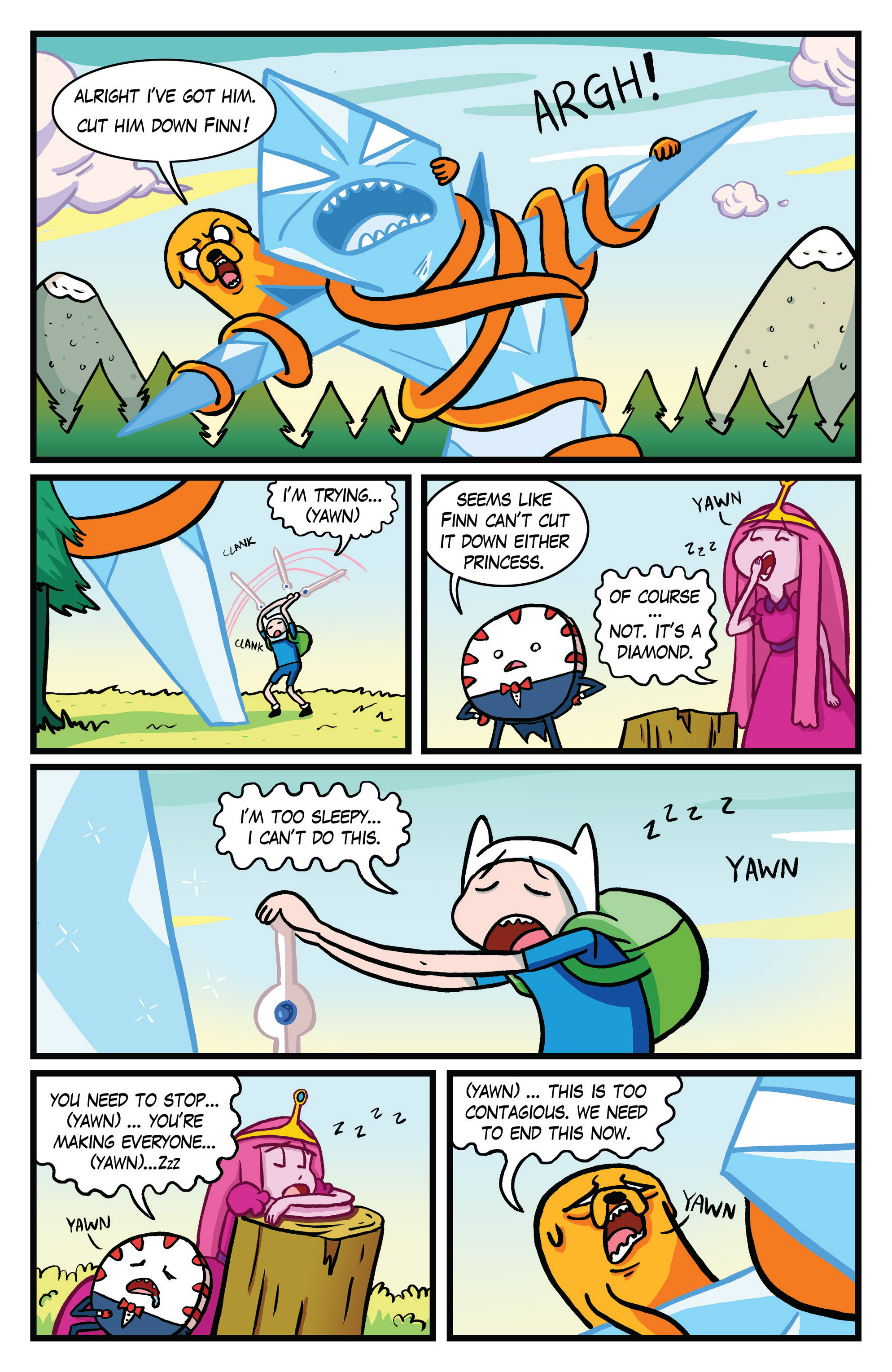 Read online Adventure Time Comics comic -  Issue #10 - 10