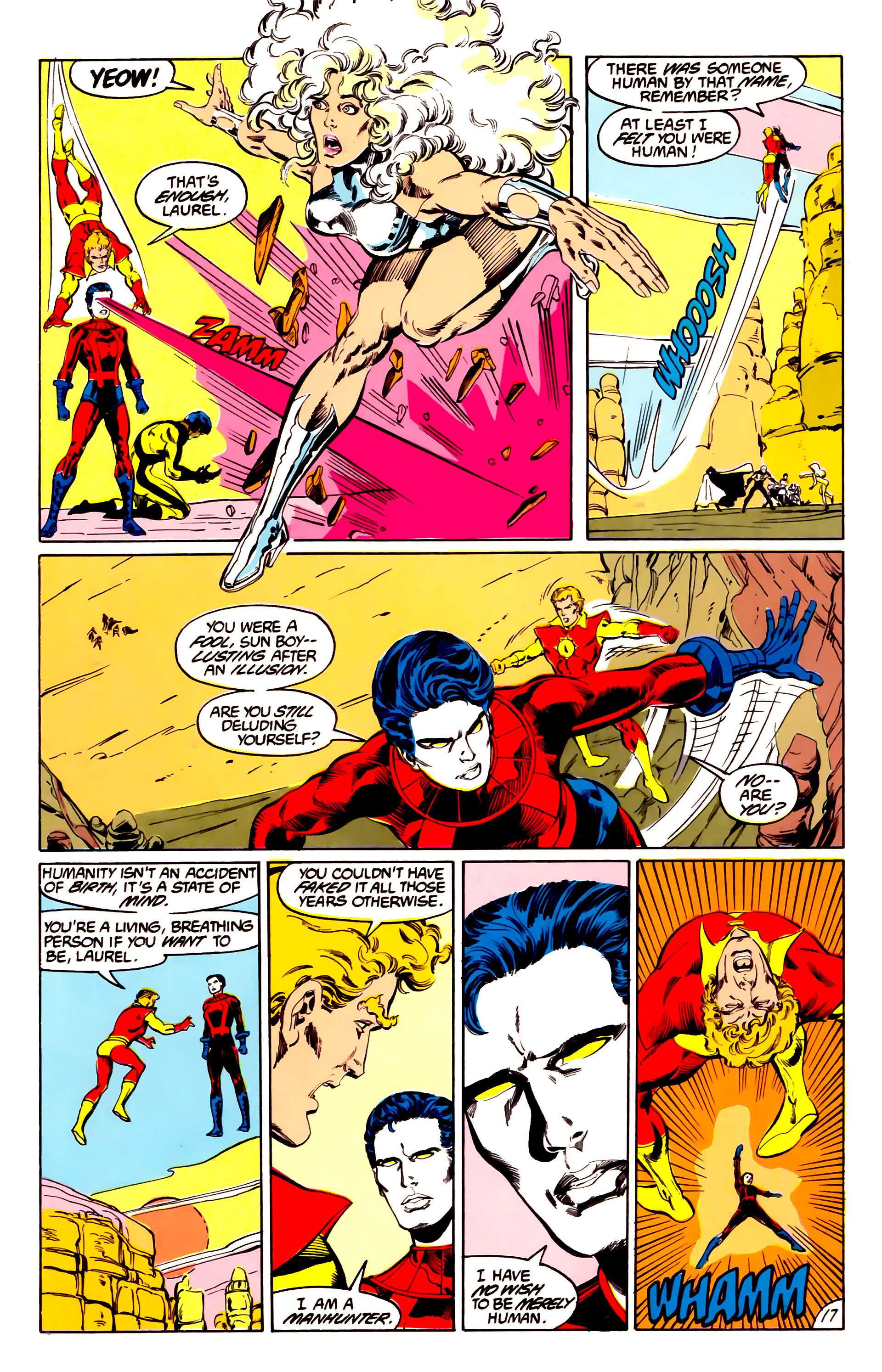 Legion of Super-Heroes (1984) 43 Page 17