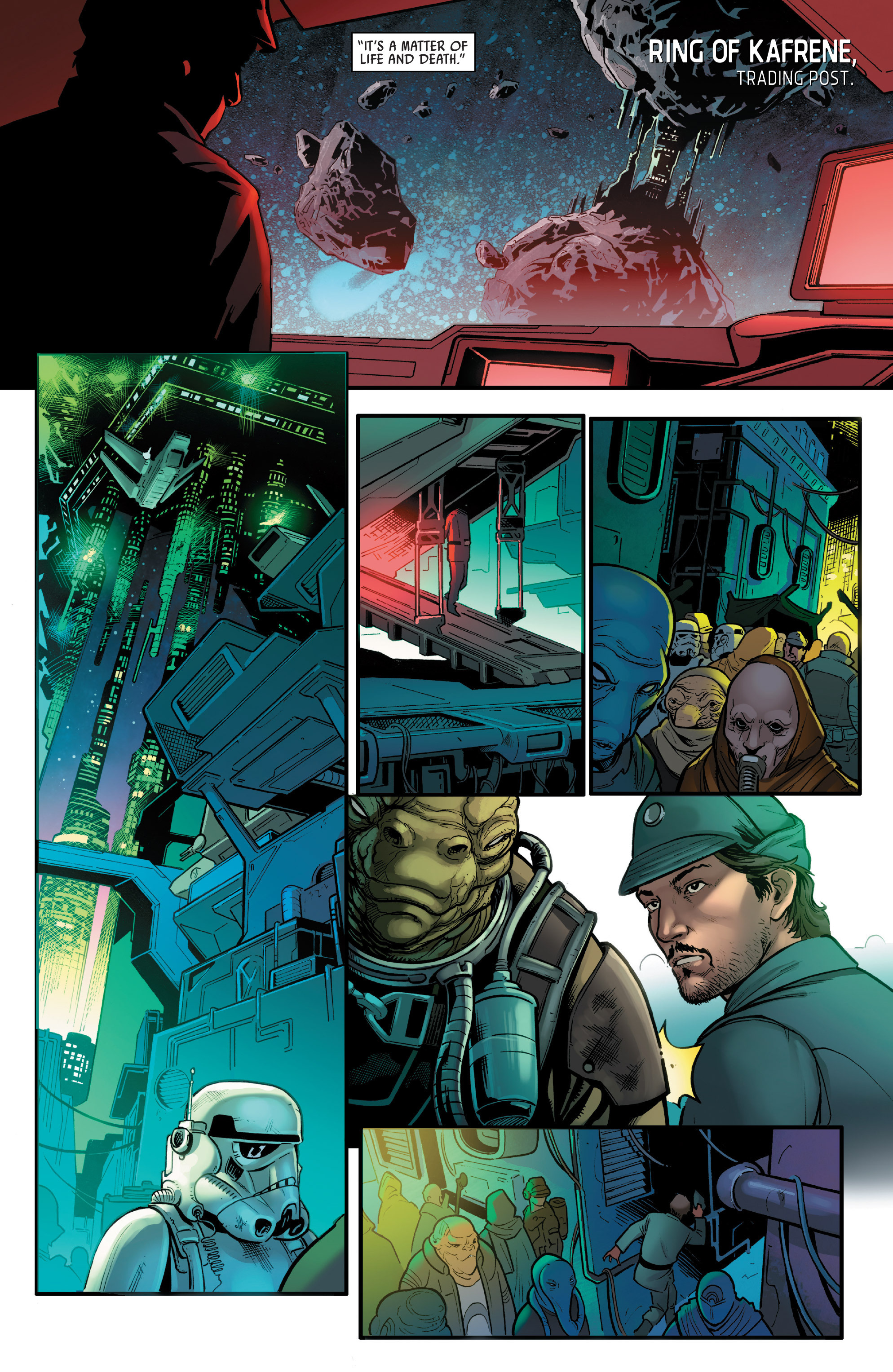 Read online Star Wars: Rogue One Adaptation comic -  Issue #1 - 11