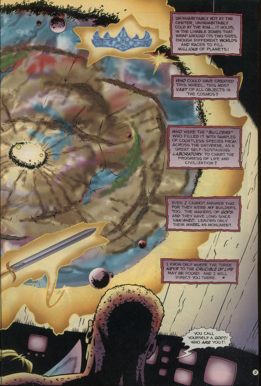 Read online Godwheel comic -  Issue #2 - 6