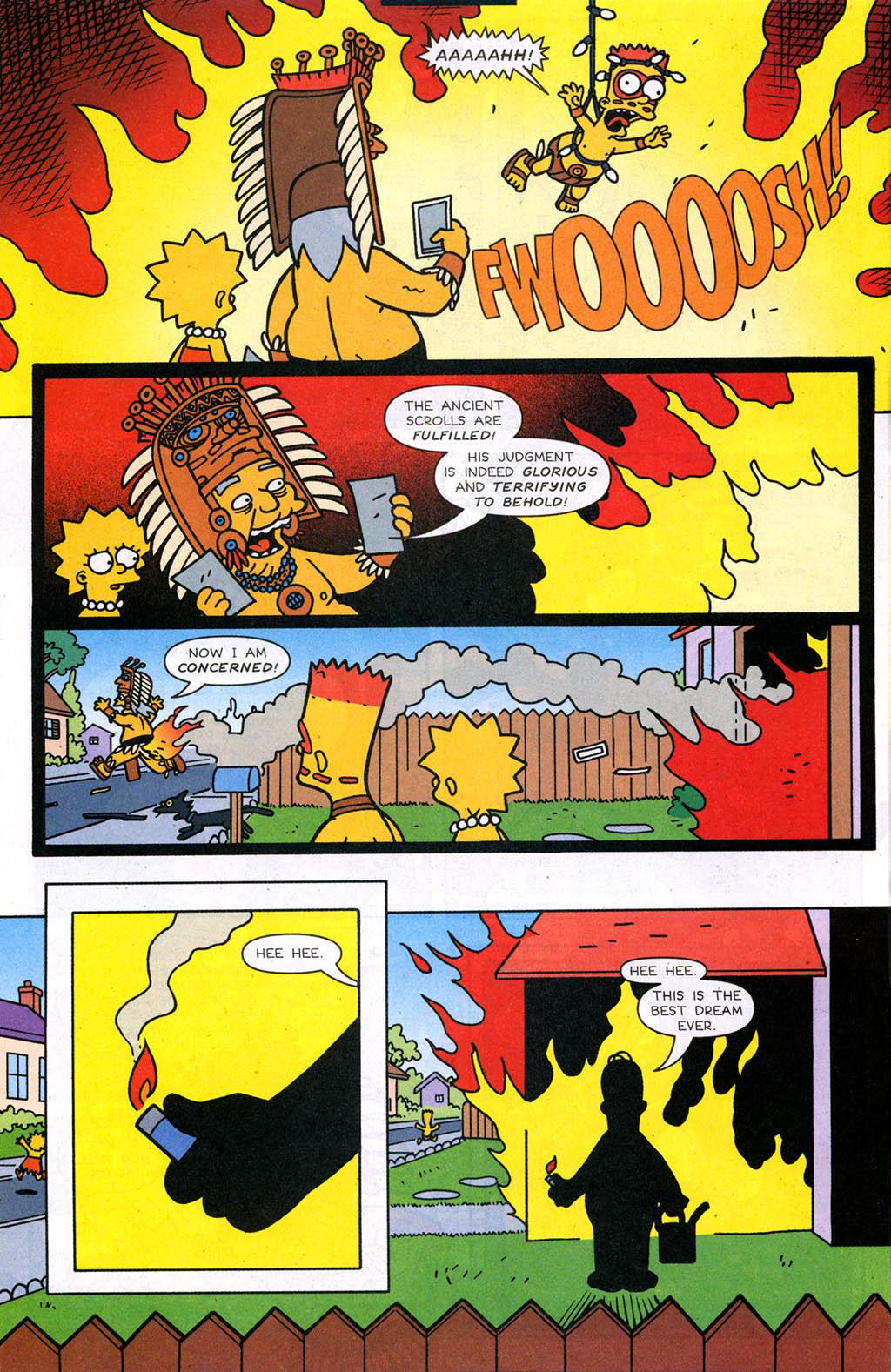 Read online Simpsons Comics comic -  Issue #98 - 21