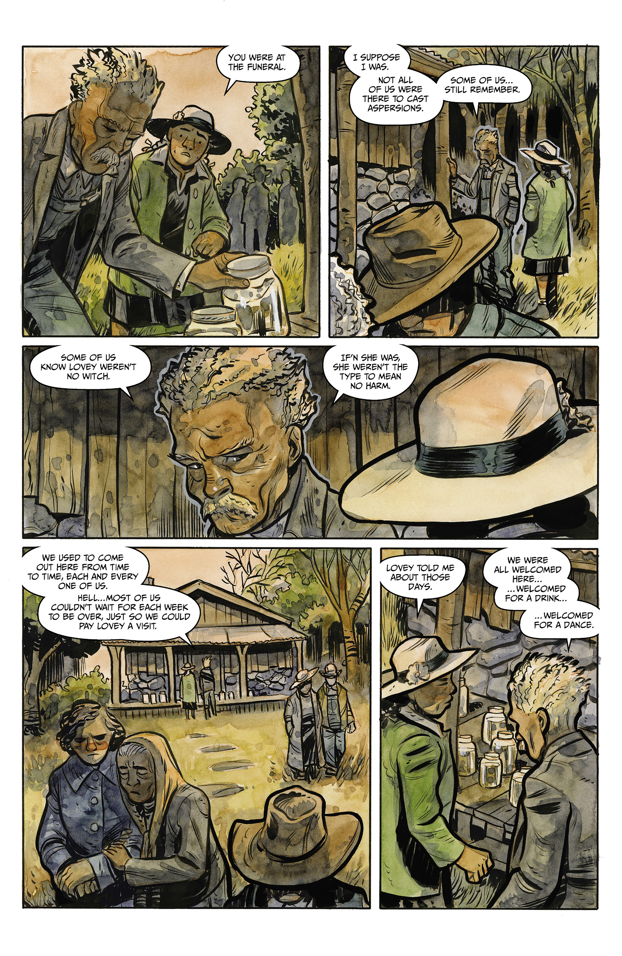 Read online Harrow County comic -  Issue #23 - 16