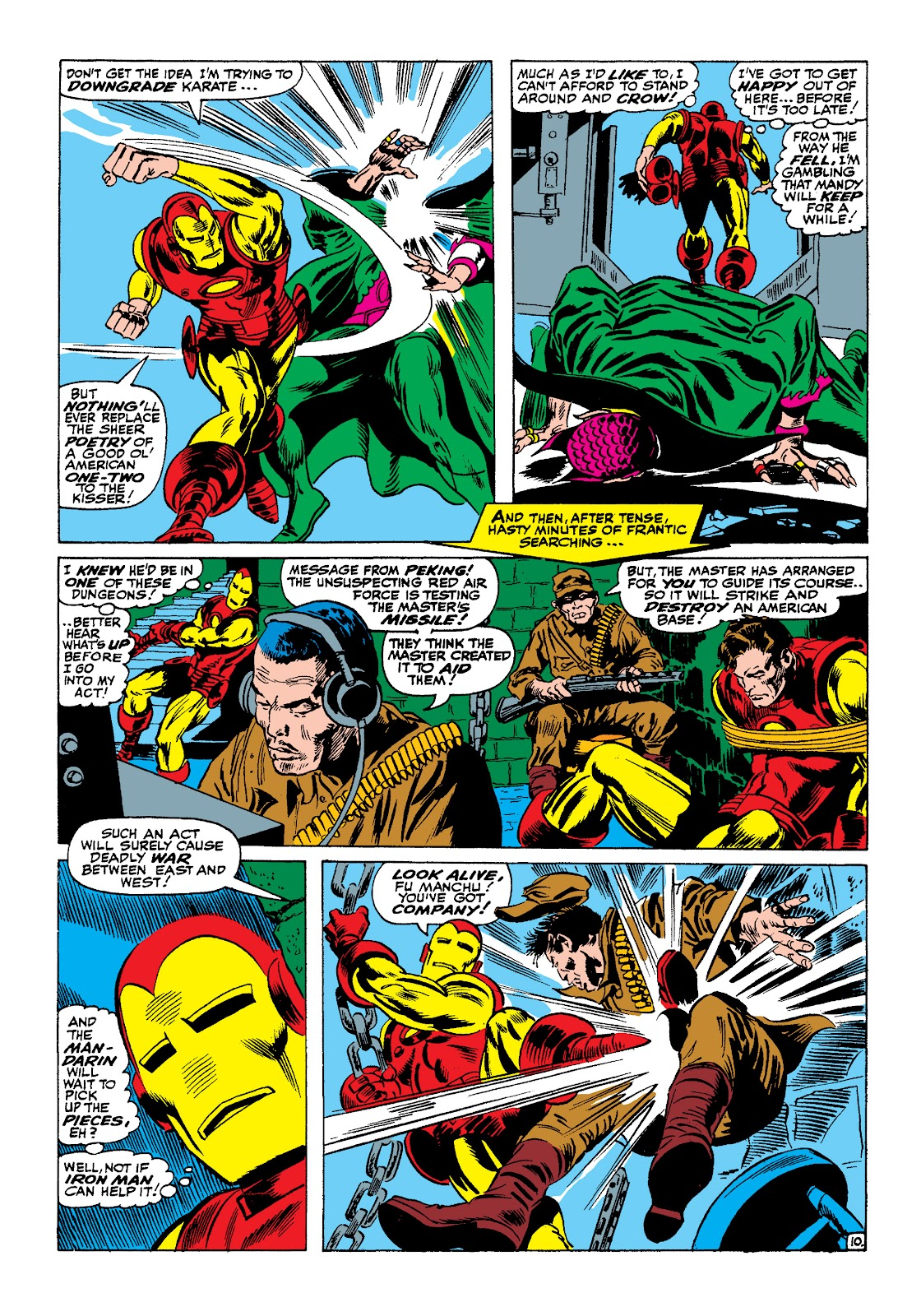 Read online Marvel Masterworks: The Invincible Iron Man comic -  Issue # TPB 4 (Part 1) - 42