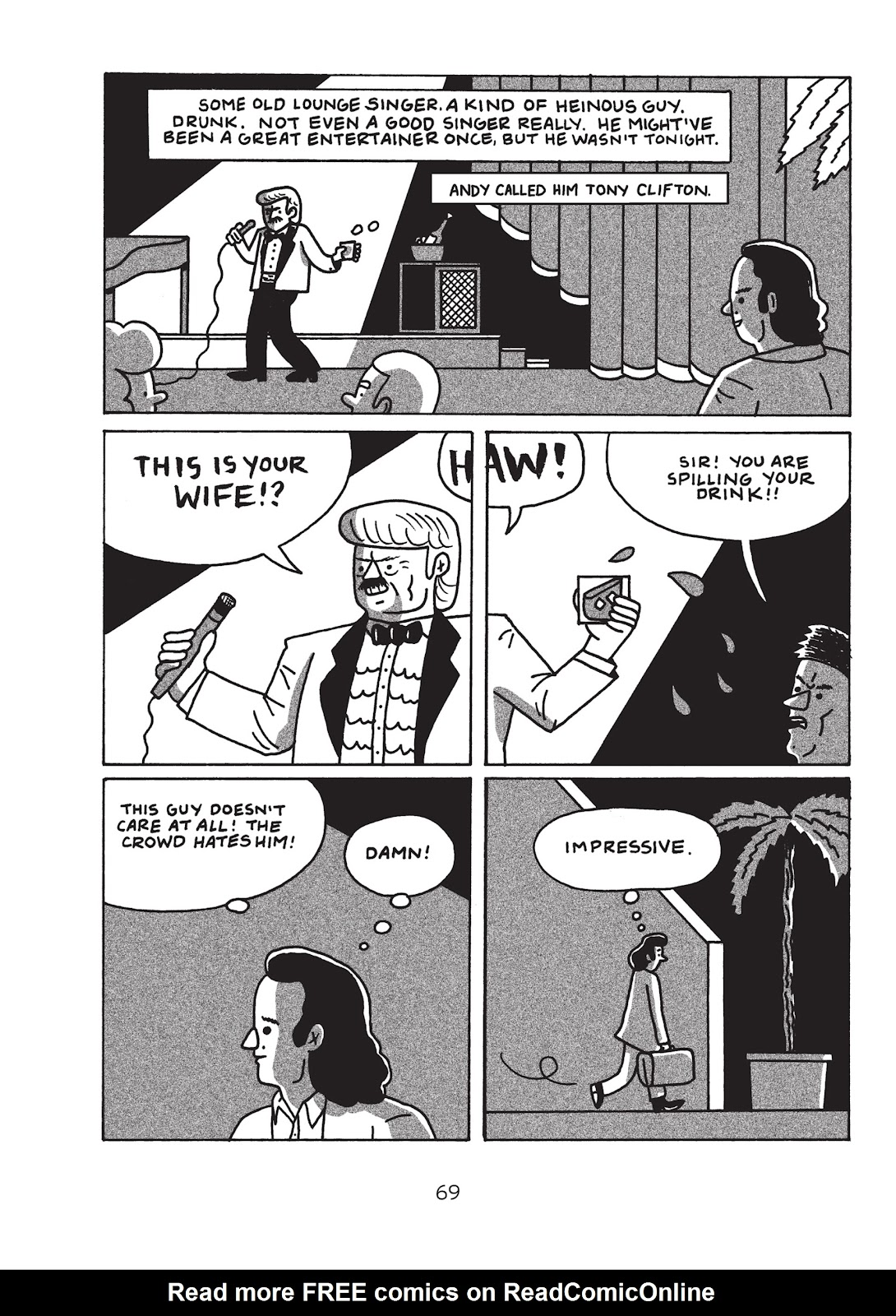 Read online Is This Guy For Real?: The Unbelievable Andy Kaufman comic -  Issue # TPB (Part 1) - 74