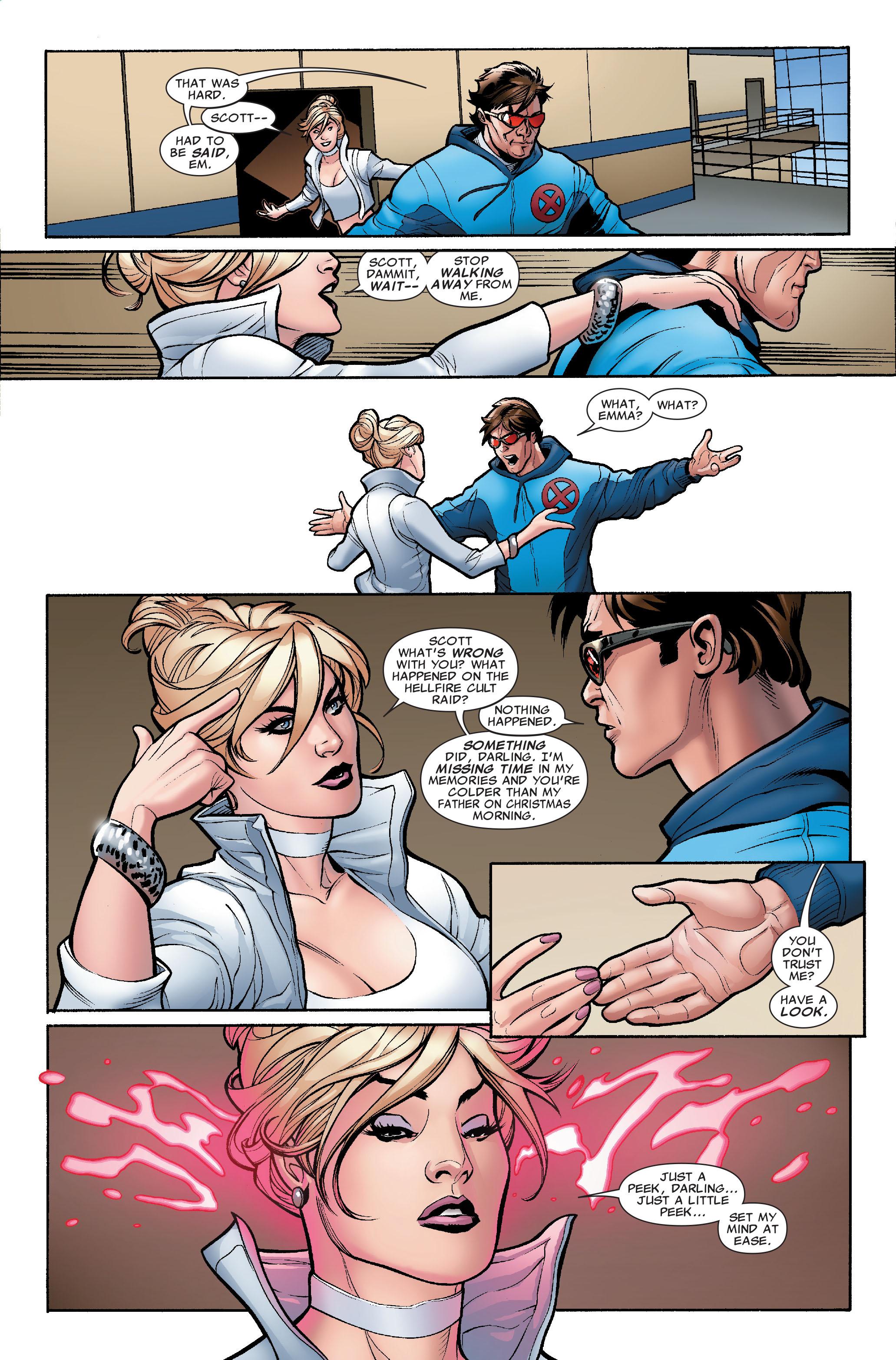 Read online Uncanny X-Men (1963) comic -  Issue #504 - 8