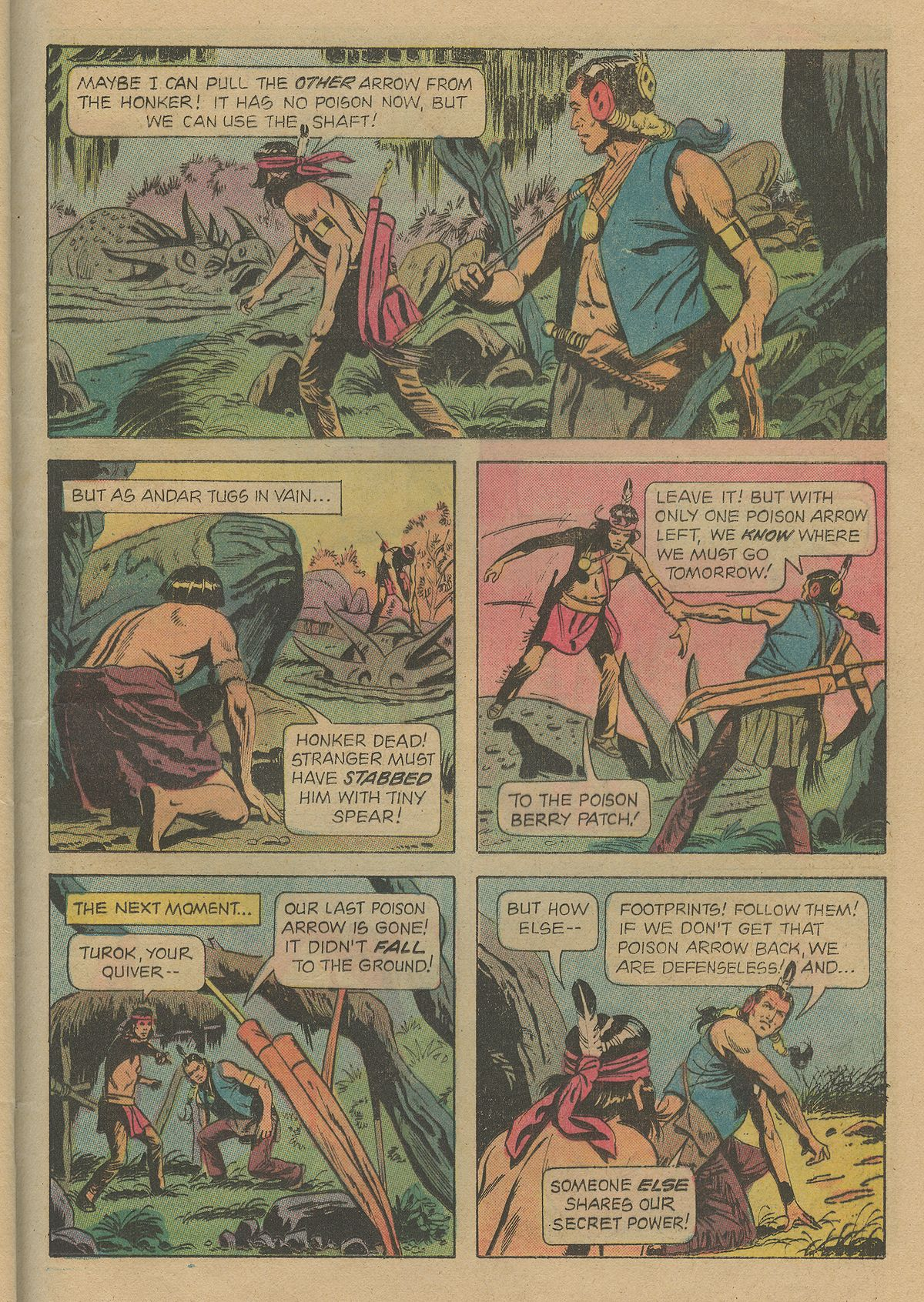 Read online Turok, Son of Stone comic -  Issue #103 - 25