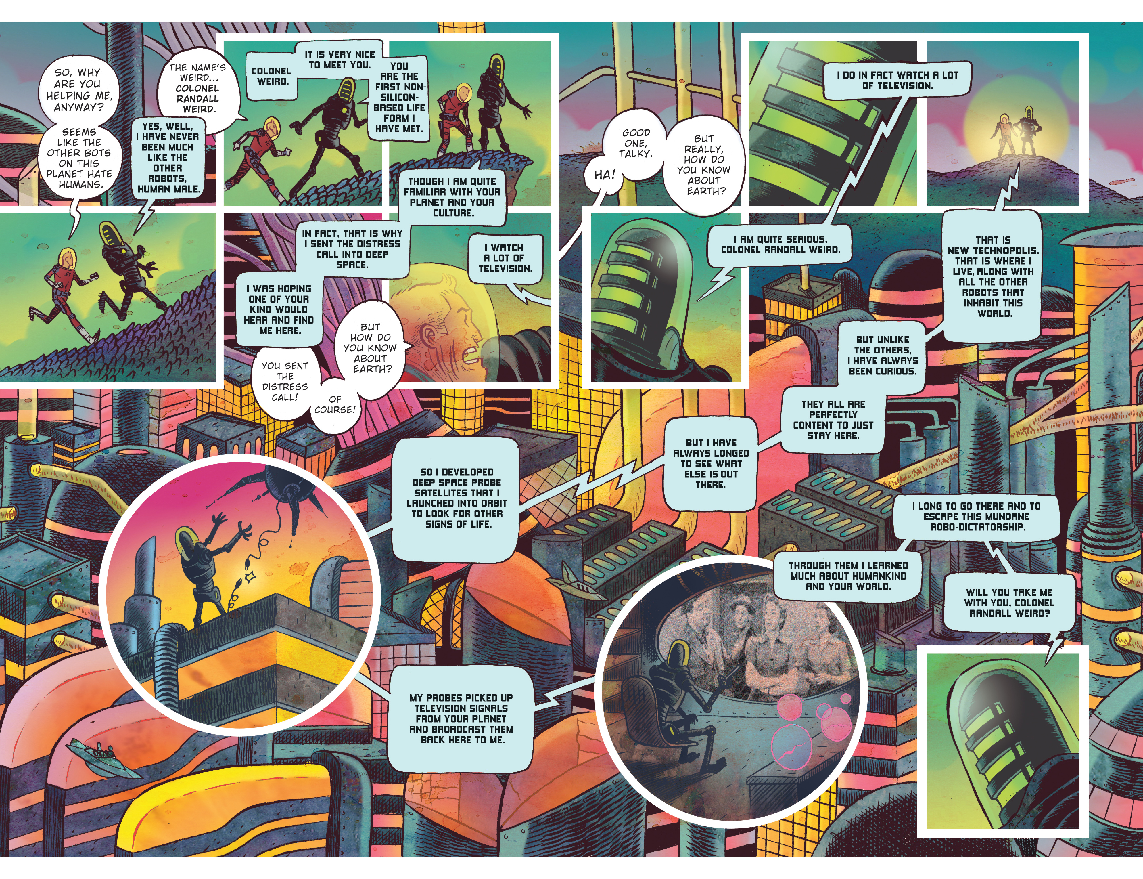 Read online Black Hammer comic -  Issue #9 - 15