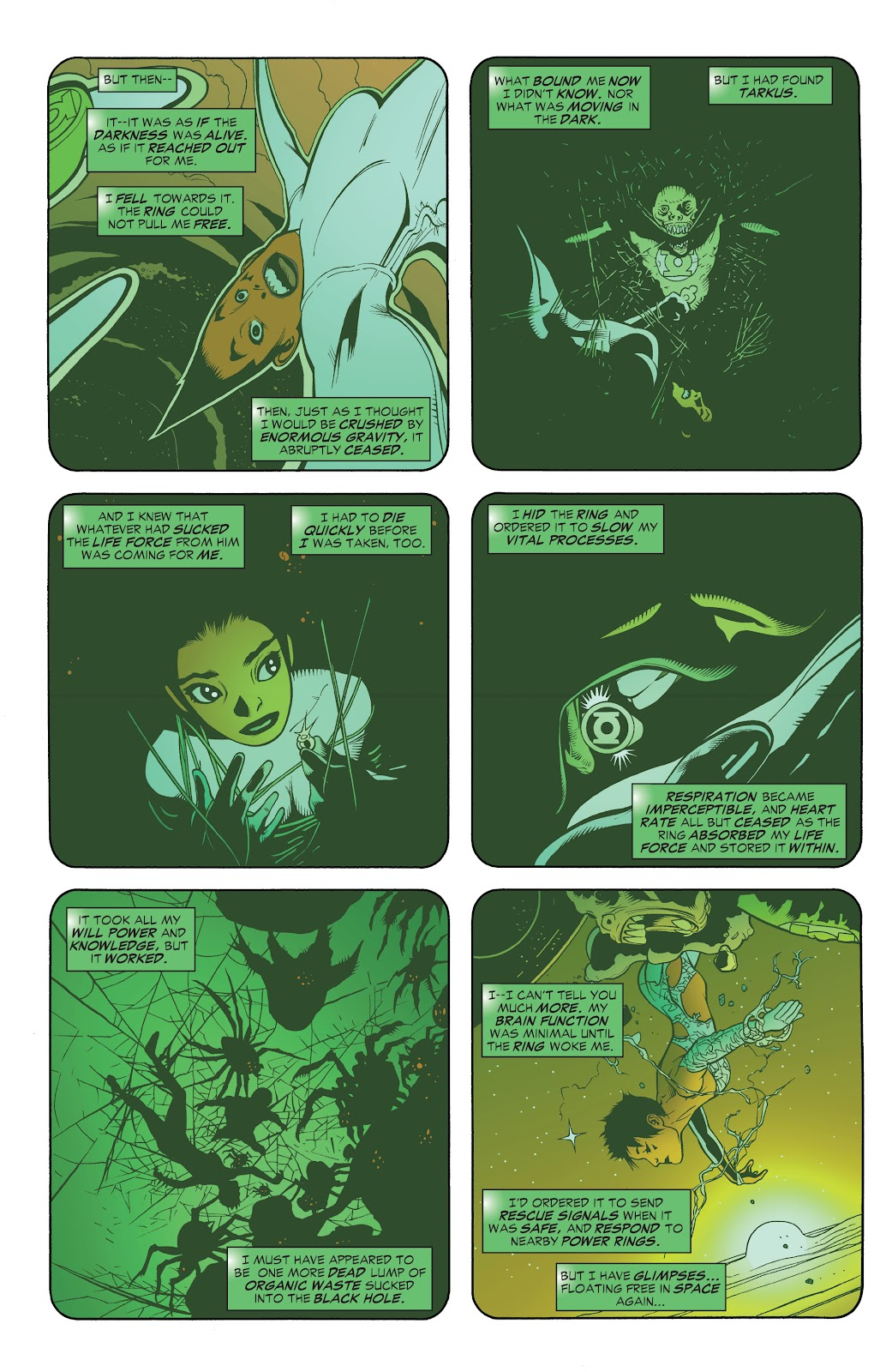 Read online Green Lantern by Geoff Johns comic -  Issue # TPB 1 (Part 3) - 43