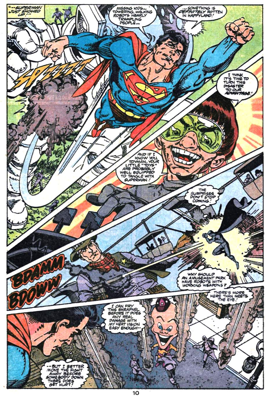 Read online Adventures of Superman (1987) comic -  Issue #475 - 11