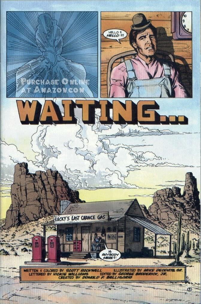 Read online Quantum Leap comic -  Issue #12 - 4
