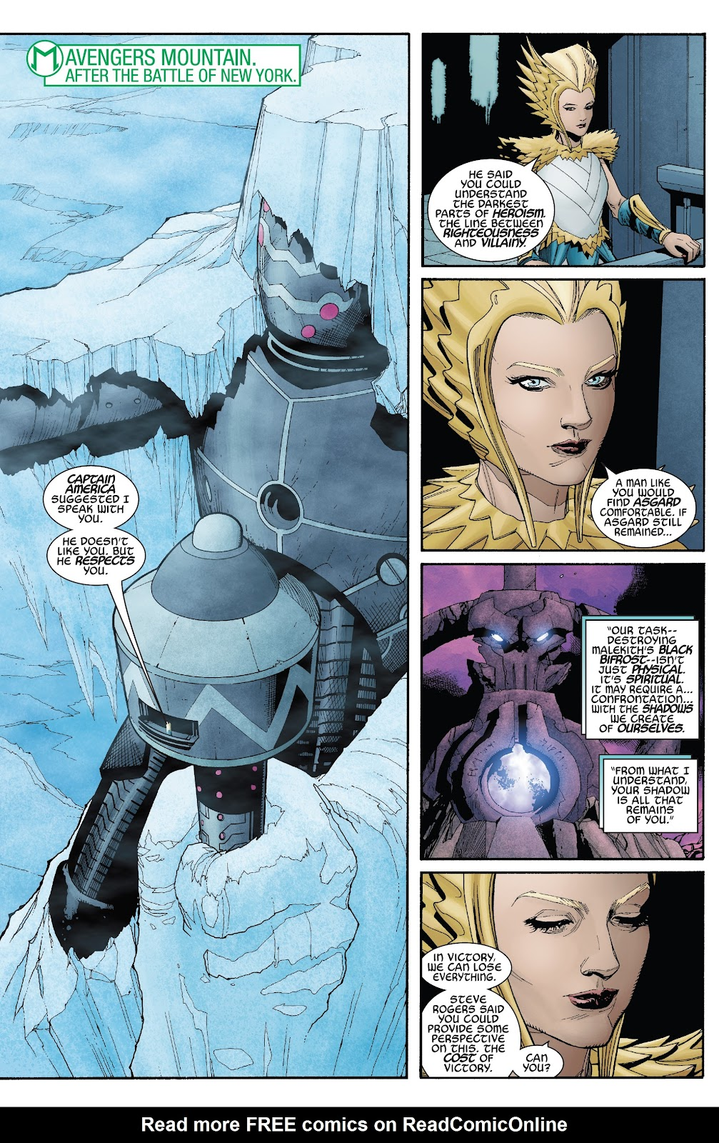 Read online War Of The Realms Strikeforce comic -  Issue # The Dark Elf Realm - 4